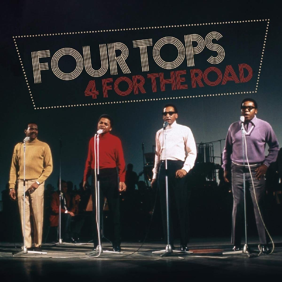 Four Tops - Four For The Road