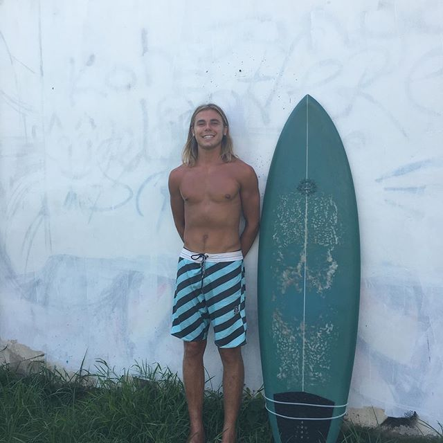 "The  Pakalolo model may be the only ""Pakalolo"" that moves freely across international Borders. It was in the Maldives last August, Thailand today, and will arrive soon in Bali. This is Grant's one board quiver"" for the trip of a life time! Mahalo Grant!"