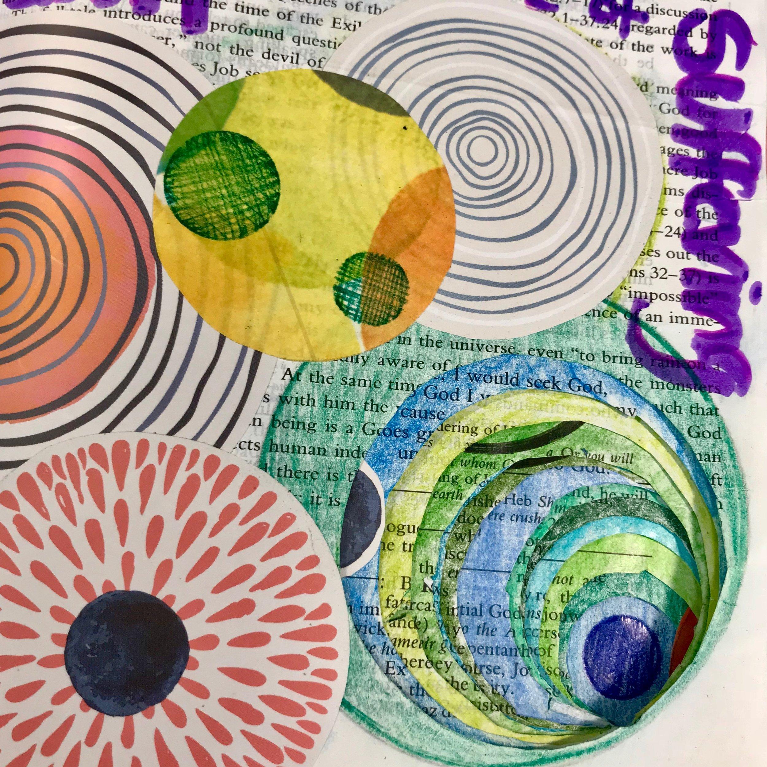Bible Art Journal - Journaling through the