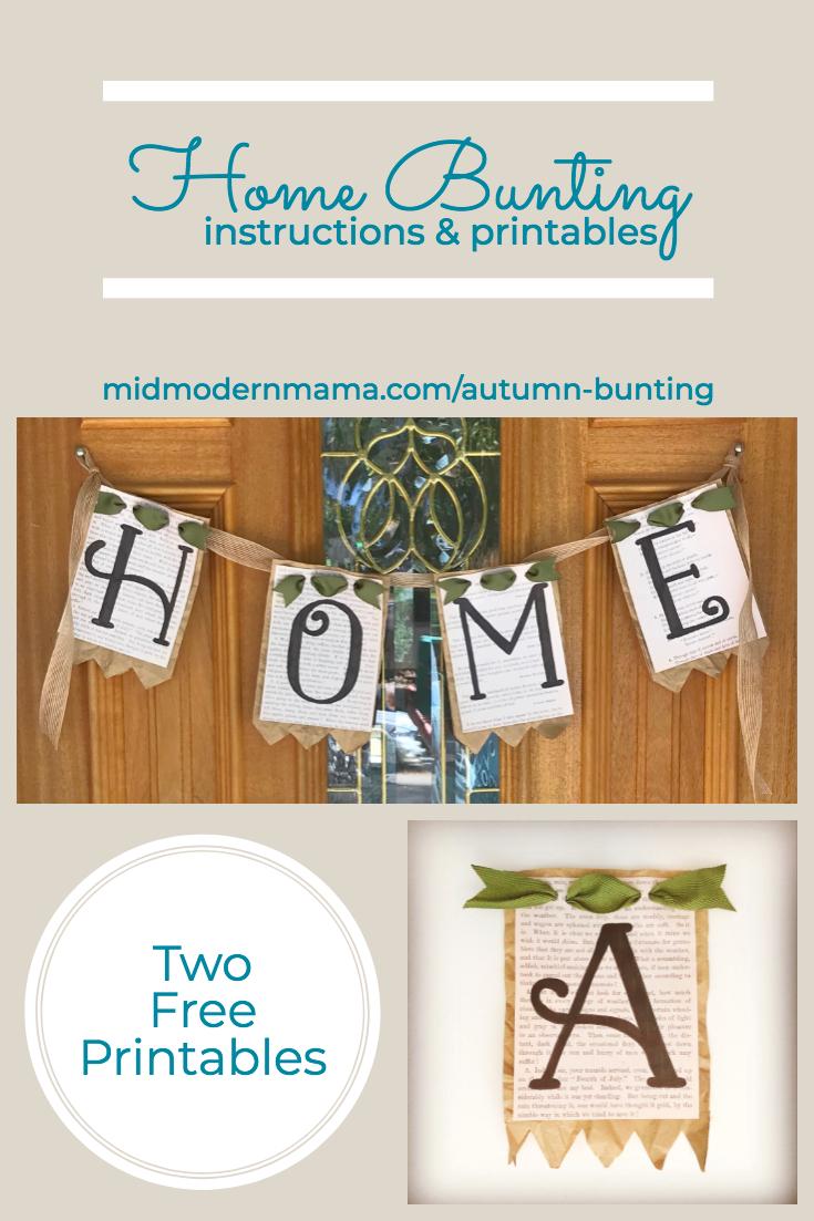 DIY Home Bunting