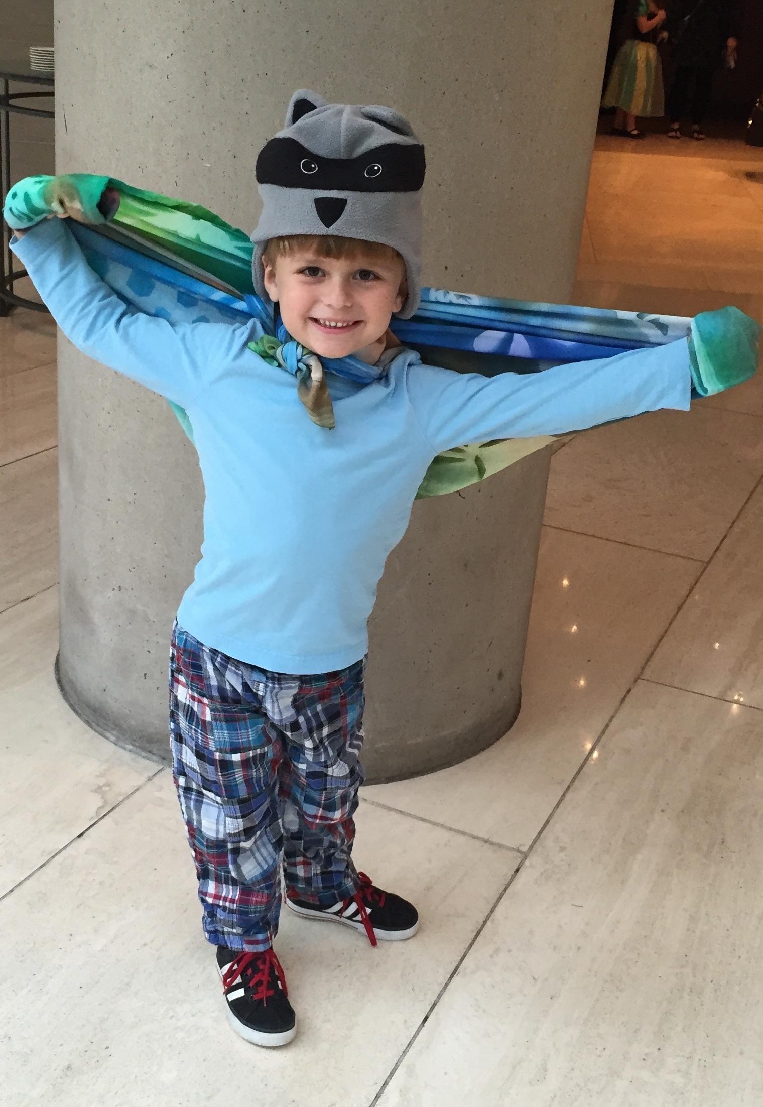 Bambino's Super Hero costume
