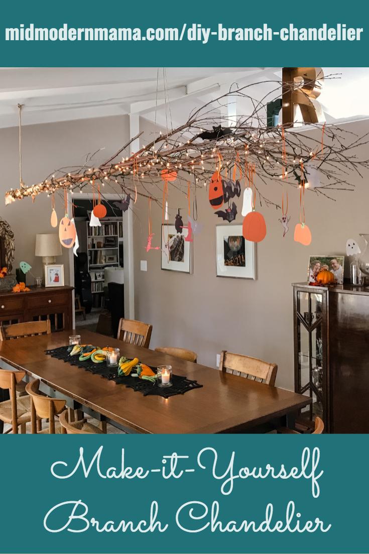 pinterest branch chandelier