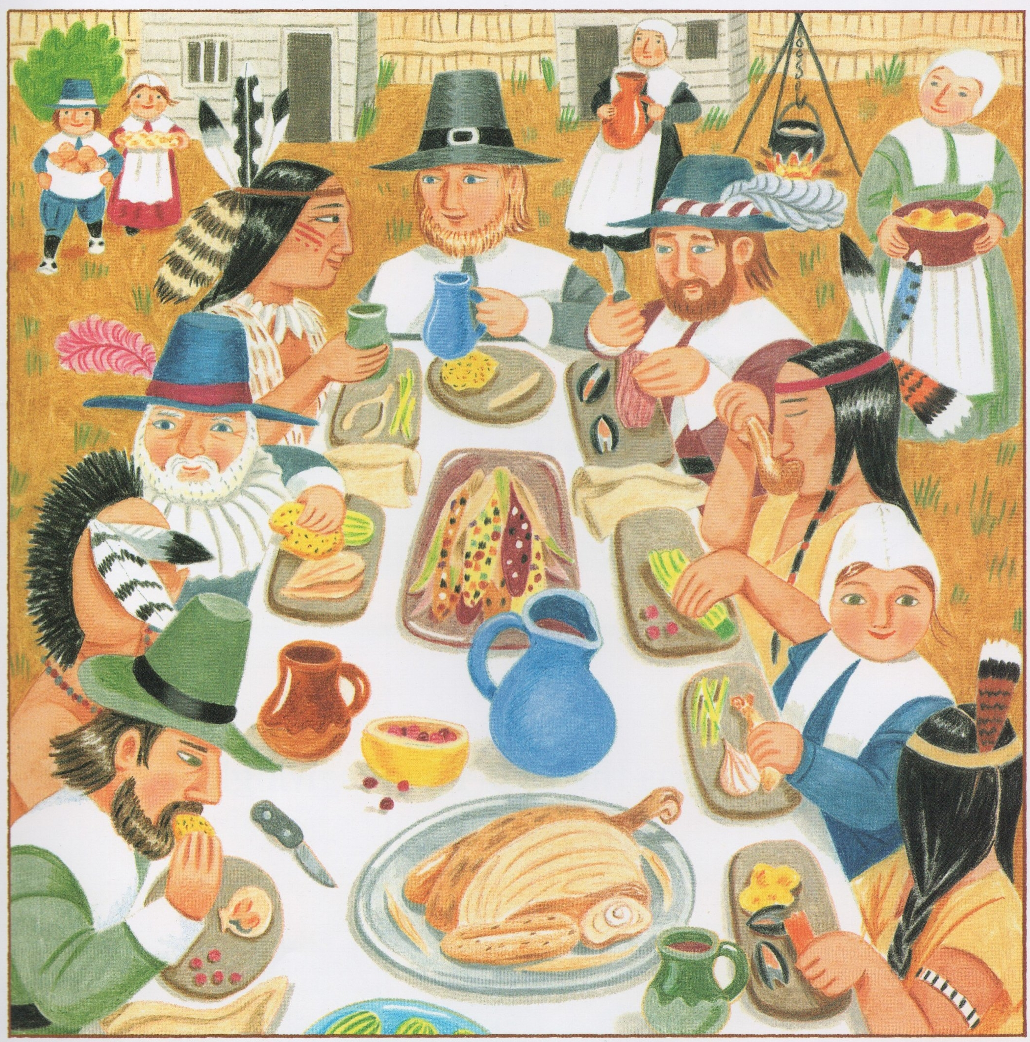Thanksgiving Day   | Illustrated by Lizzy Rockwell