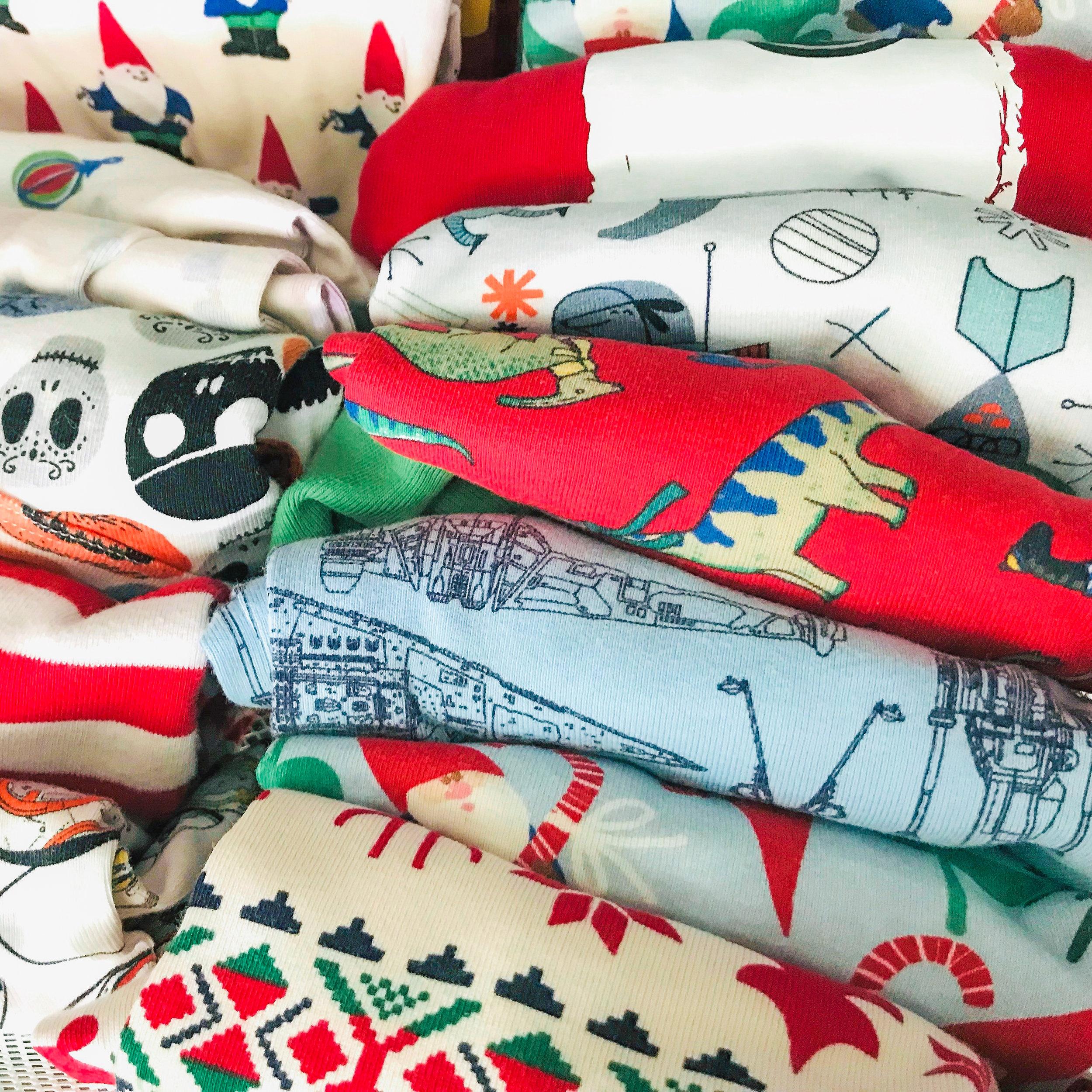 A KonMaried drawer of pajamas truly sparks joy