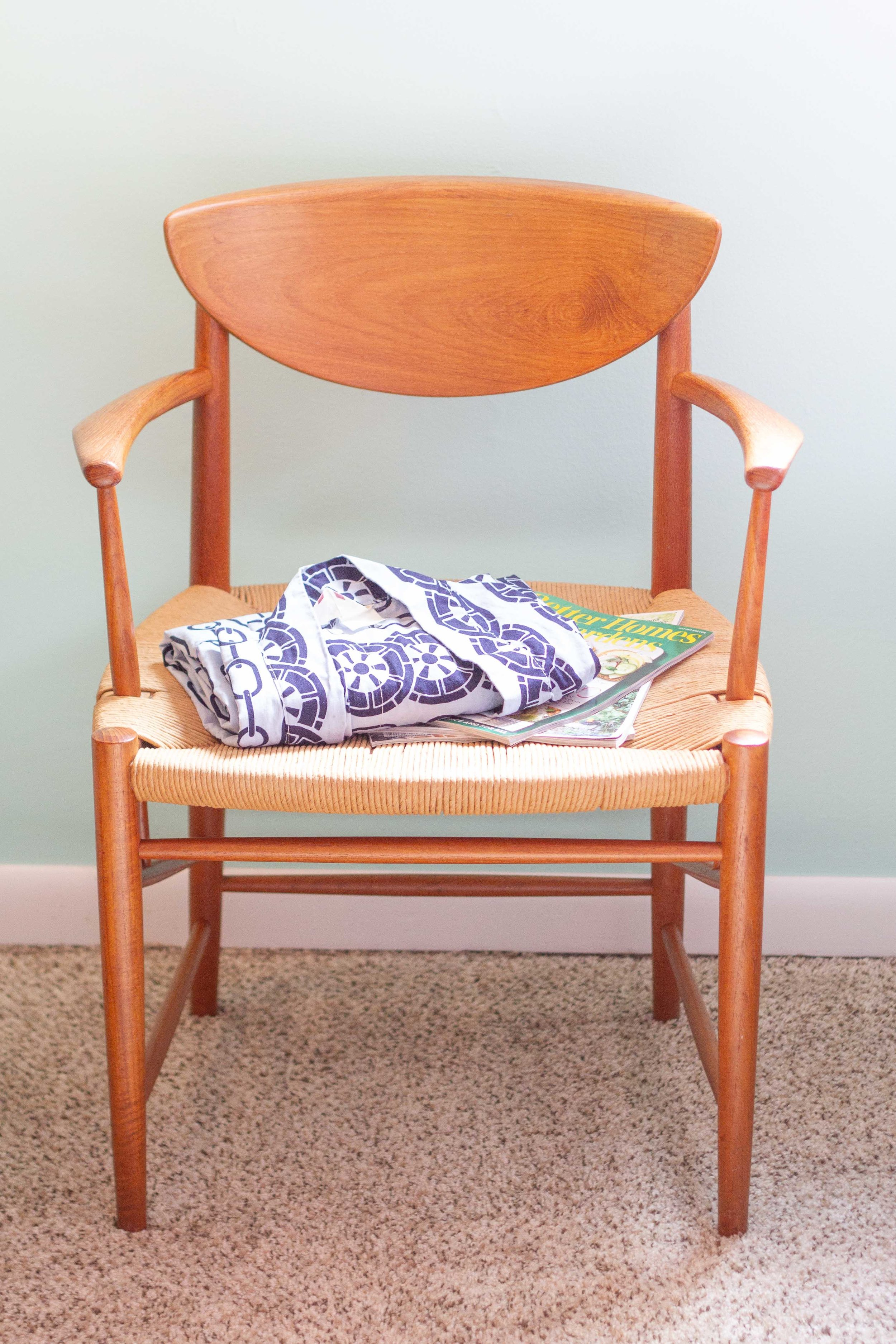 My great aunt bought these chairs and a table to match in Scandinavia in the early 1960s.