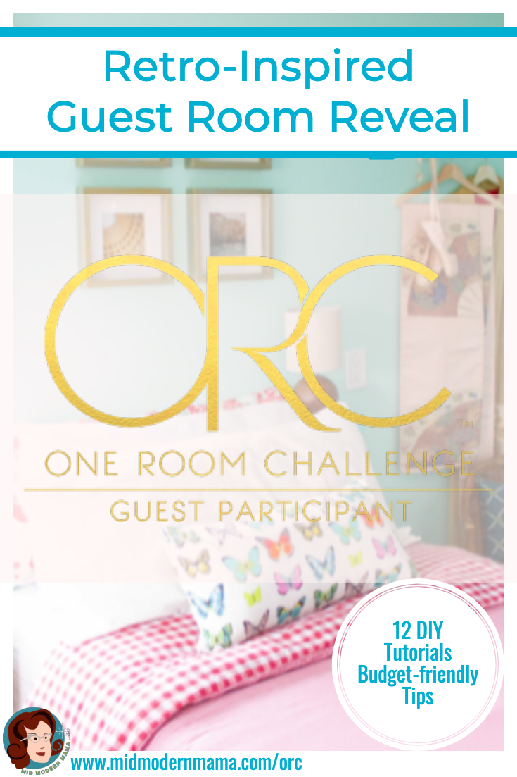 Join author Angela Nickerson as she reveals her retro-inspired guest room makeover. With loads of Mid Century charm, more than a dozen DIY tutorials, and a budget-friendly approach, this guest room puts hospitality front and center for every guest. Includes how to dress two twin beds, ideas for guest room essentials, and printables.