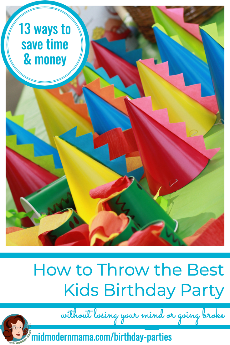 Giving a kids birthday party on a budget can seem overwhelming, but it doesn't have to be! I have DIY ideas for colorful games, decorations, entertainment, crafts, activities, themes, costumes, and food that will make any child's birthday memorable. From a simple, classic backyard party to a party at a park, our checklist will help you simplify your event and make it fun for every boy and girl!
