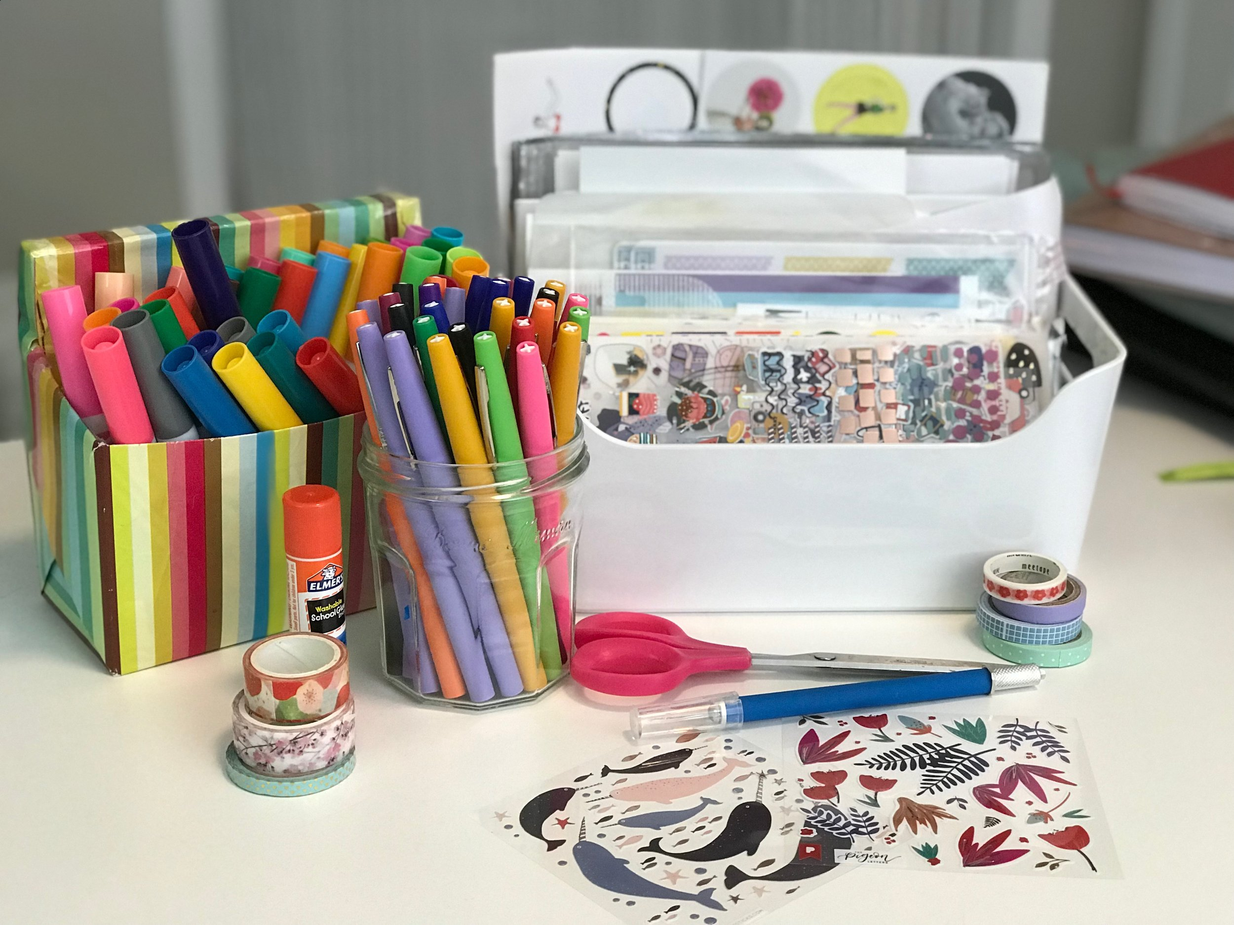 Personalize and customize your planner with washi tape, stickers, markers, and pens. Sticker subscriptions are a great idea, and I've included the best subscription services. Decorating a planner makes it more personal and fun, but color coding is also important for organization and time management.