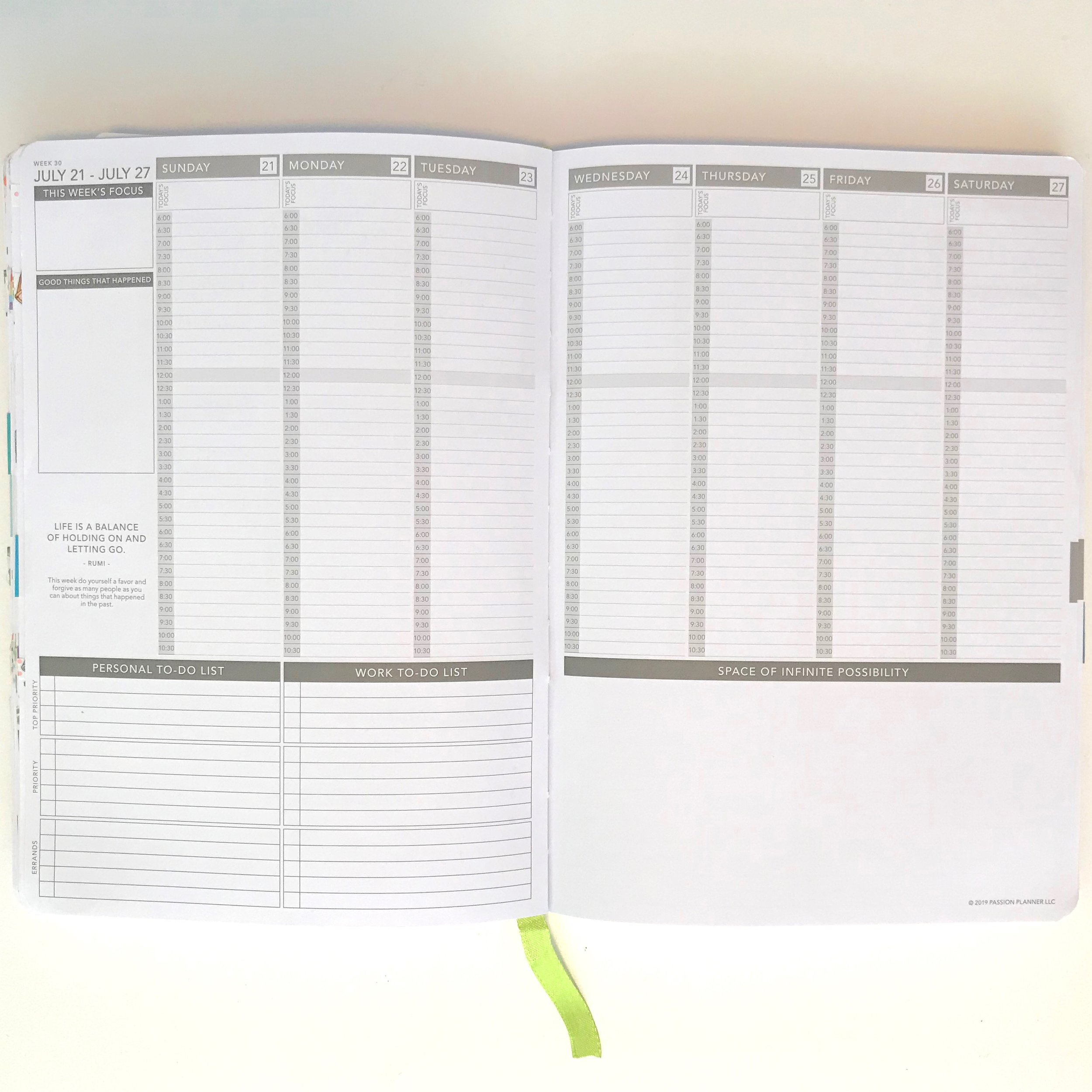 Monthly spread ideas for moms and student planners.
