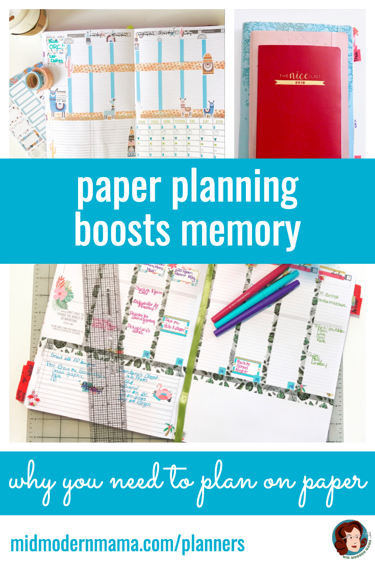 Current brain and educational research shows that writing something down on paper is better than typing for memory and comprehension. The same applies to planning. Using a paper planner like the Passion Planner for monthly, weekly, and daily calendaring is better for time management. Simple ideas for how to use a planner and examples of layout and organization tips. Also: family, mom, work, school