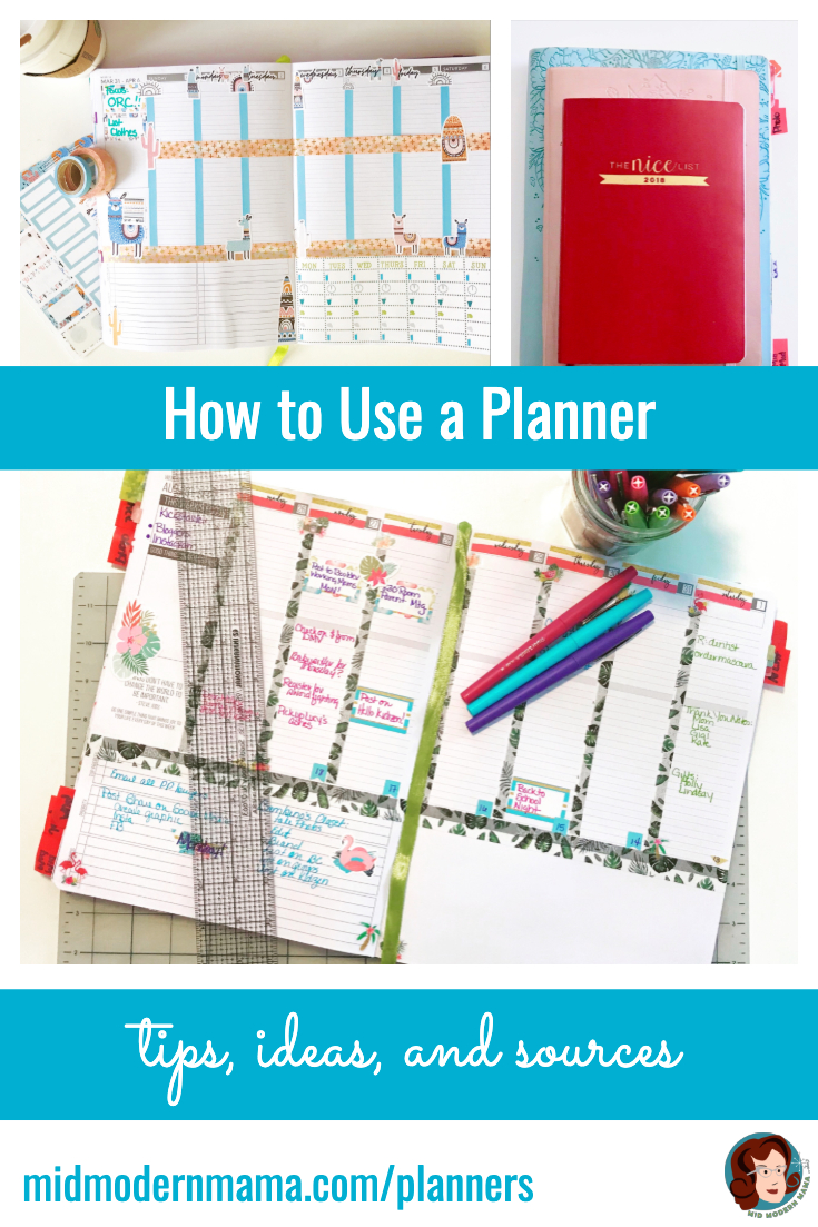 Tips and ideas for creating a planner practice -- a kind of mental yoga to help boost memory and improve time management. Planning isn't just managing a calendar. It is setting priorities and making decisions which allow you more family time and better work-life balance. Includes organization tips, daily, weekly, and monthly calendar ideas, and examples including the Passion Planner. Also: moms