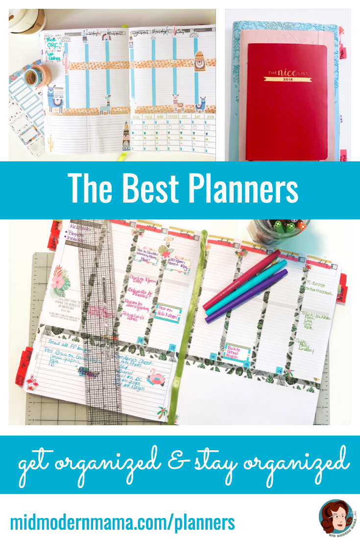 Whether you are a mom, a dad, a professional, an artist, a student: everyone can benefit from a good planner. Customizable, printable, budget-friendly, large, small, spiral-bound, weekly, monthly: I have recommendations for all kinds of planners. The Passion Planner is my favorite, and I'll tell you why. But I also have a Christmas planner and great planners for anyone ready to get organized.