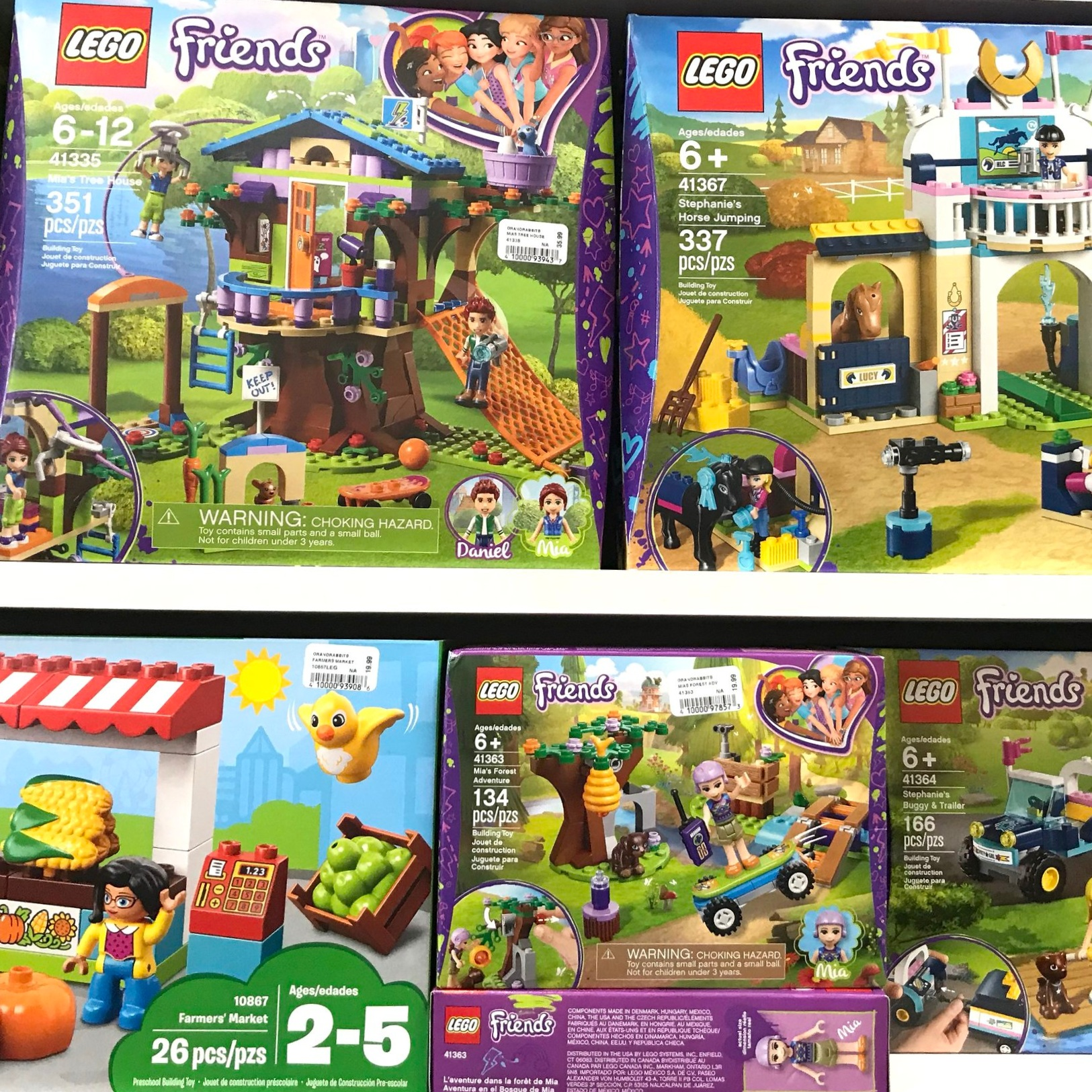 Today Lego's Friends line is marketed toward girls and features strangely skinny figures — not their standard minifigs — with sets that conform to more feminine stereotypes.