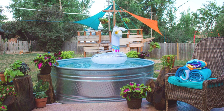 Diy Stock Tank Pool Ideas Mid Modern Mama