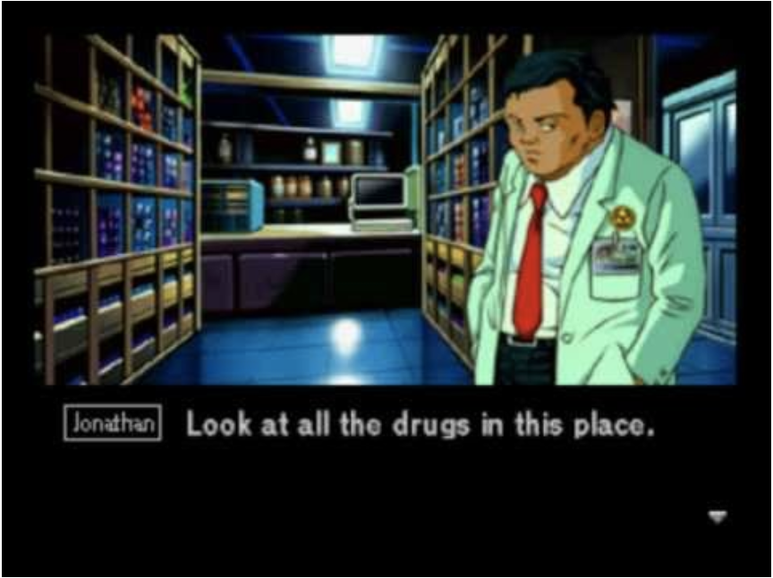 Policenauts (1994), Konami (PC-9812, PlayStation, Sega Saturn)