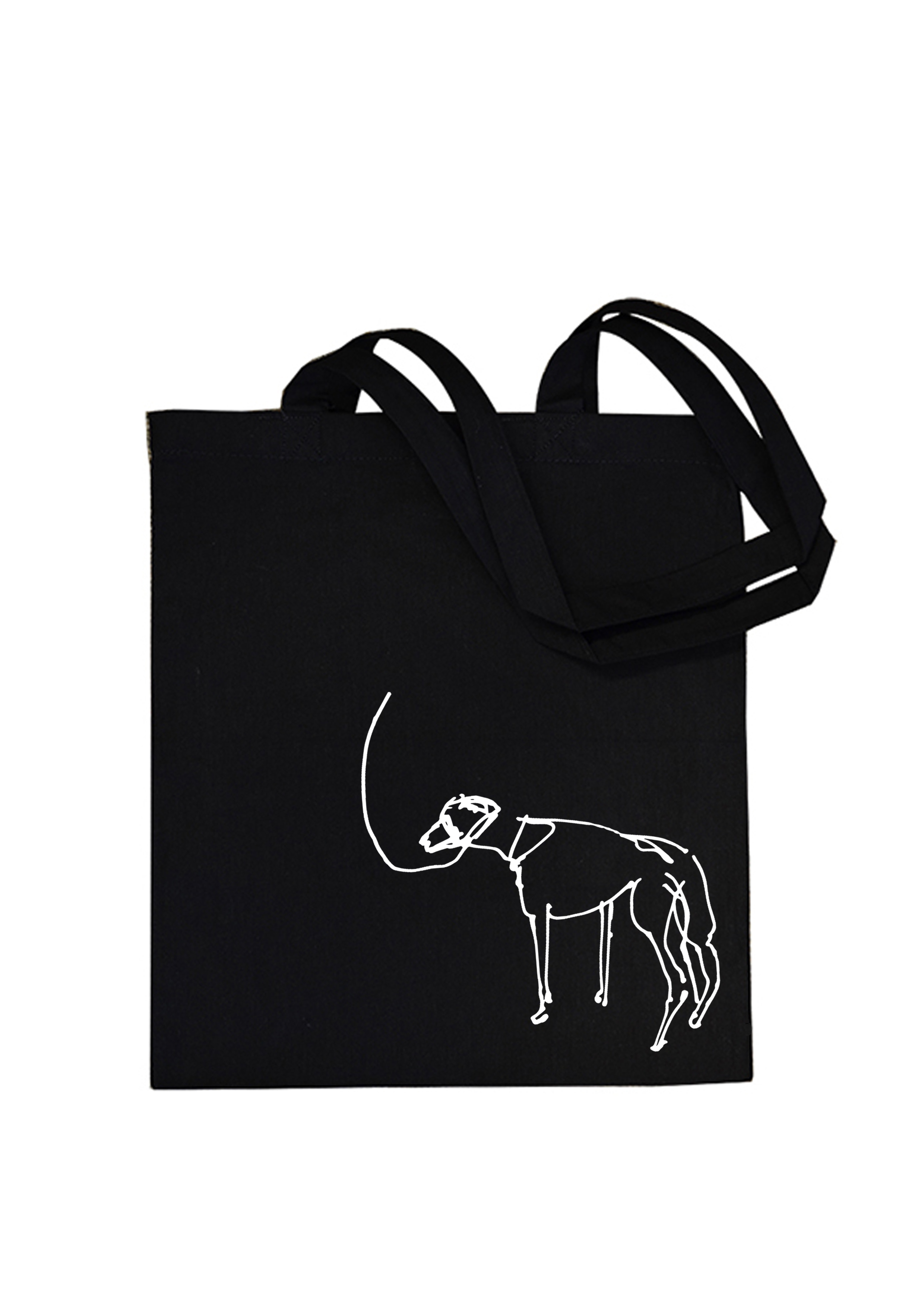 Black tote with dog.jpg