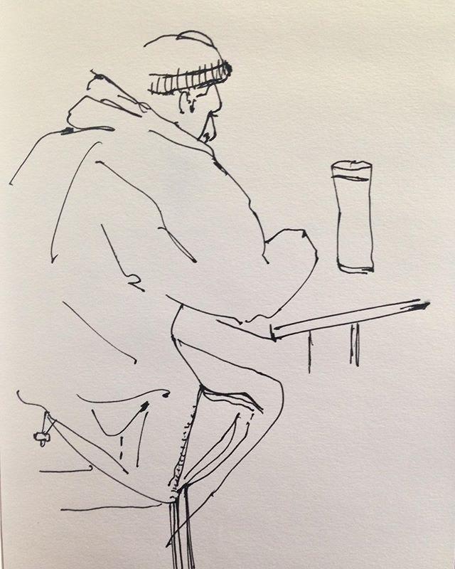 10am  Ink on paper.  #cebroomfield #contemporaryart #artist #linedrawing #lineart #art #hull
