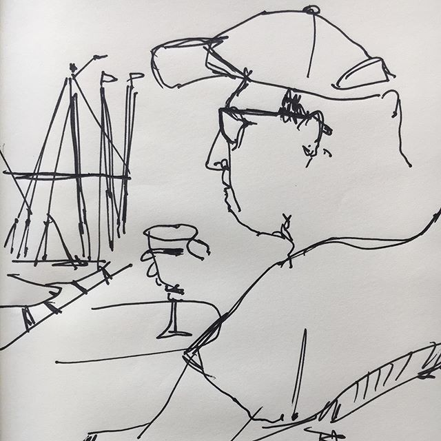 Holiday Ink on paper  #lineart #linedrawing #art #ink #pen #holiday #drawing #cebroomfield