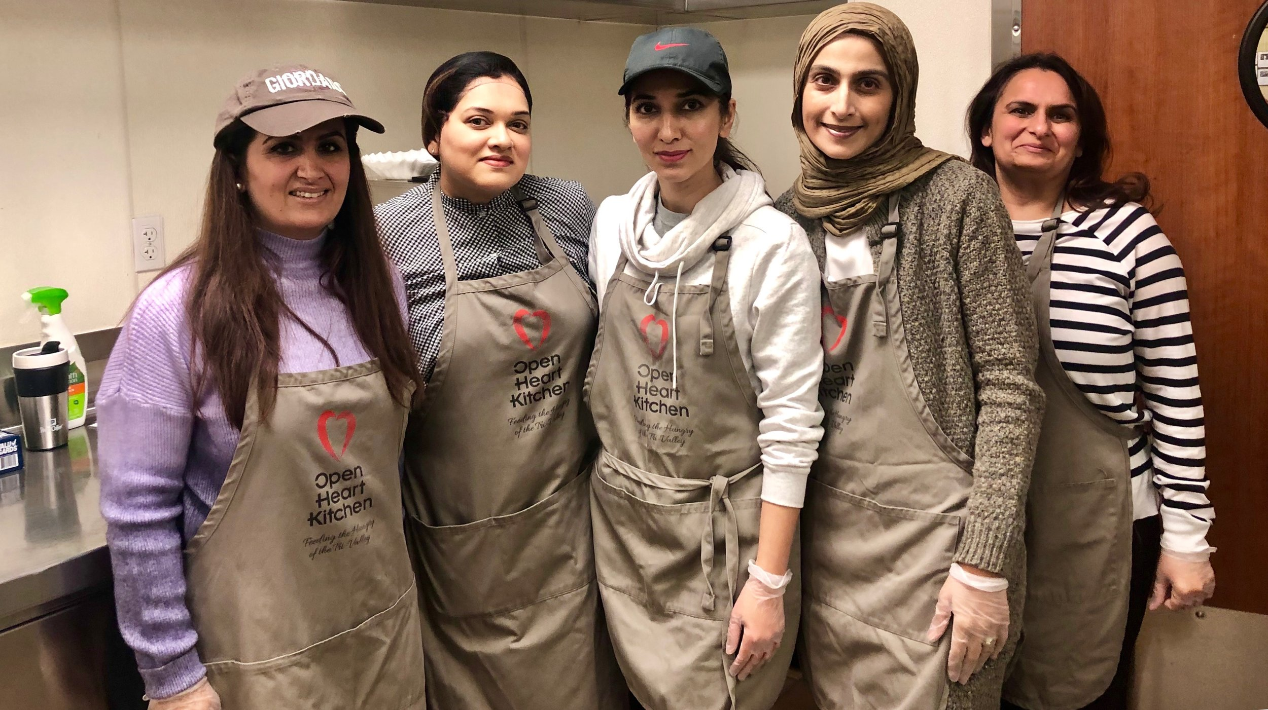 Rahima Danville-Servicing at Open Heart Kitchen