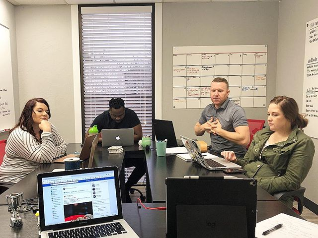 We work hard so you don't have to. Video conferencing today with @nationalmartialartsok to talk about future goals and objectives for February.  #socialmediamarketing #socialmedia #brandawareness #smallbusiness #workhard #oklahoma #oklahomasmallbusinesses