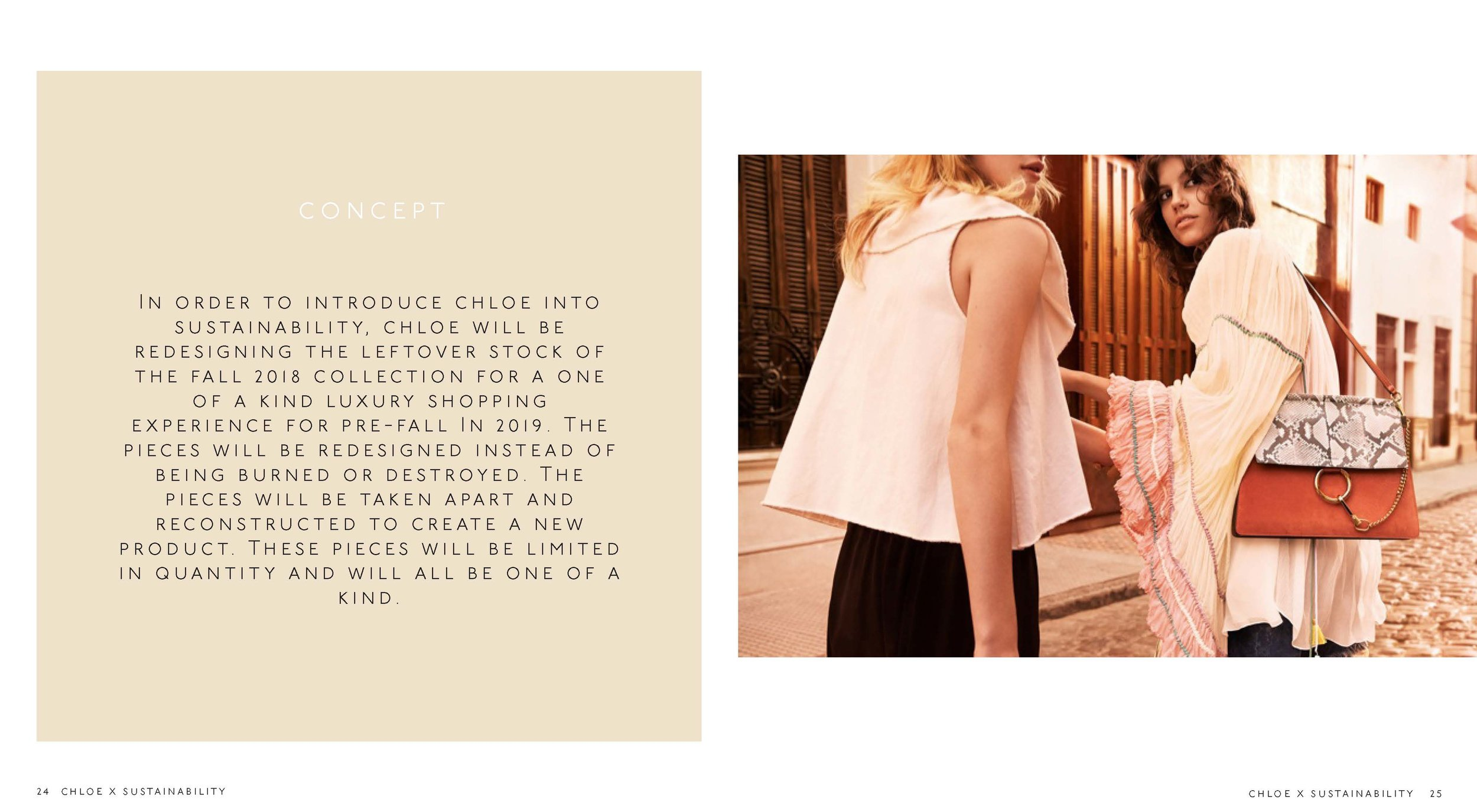 CHLOE X SUSTAINABIILITY