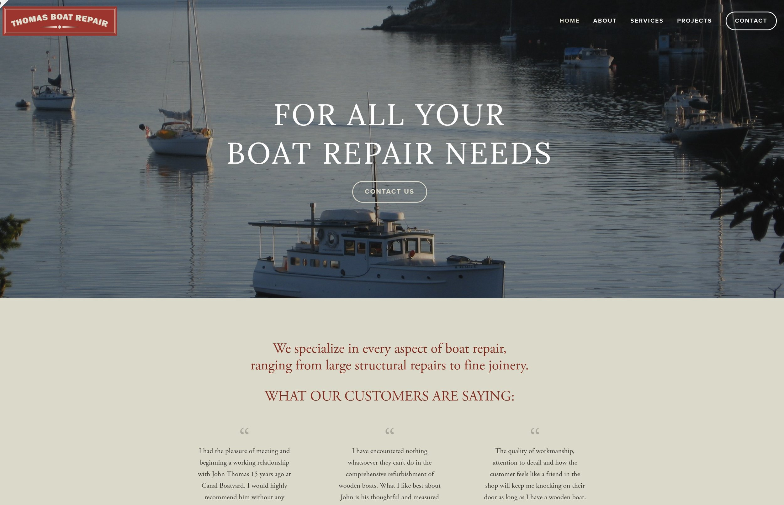 Thomas Boat Repair