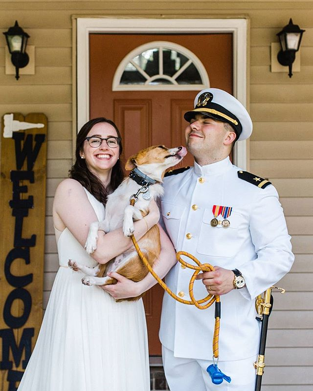 We've said it before and we'll probably say it again, More pets please! Gotta get the whole family in for some of the portraits right!? . . #realweddings #charlestonweddings #charlestonwedding #diywedding #columbiaweddingphotographer #clermontweddingphotographer #clermontwedding #lakelandwedding #lakelandweddingphotographer #weddingdog #weddingdogs #weddingpets