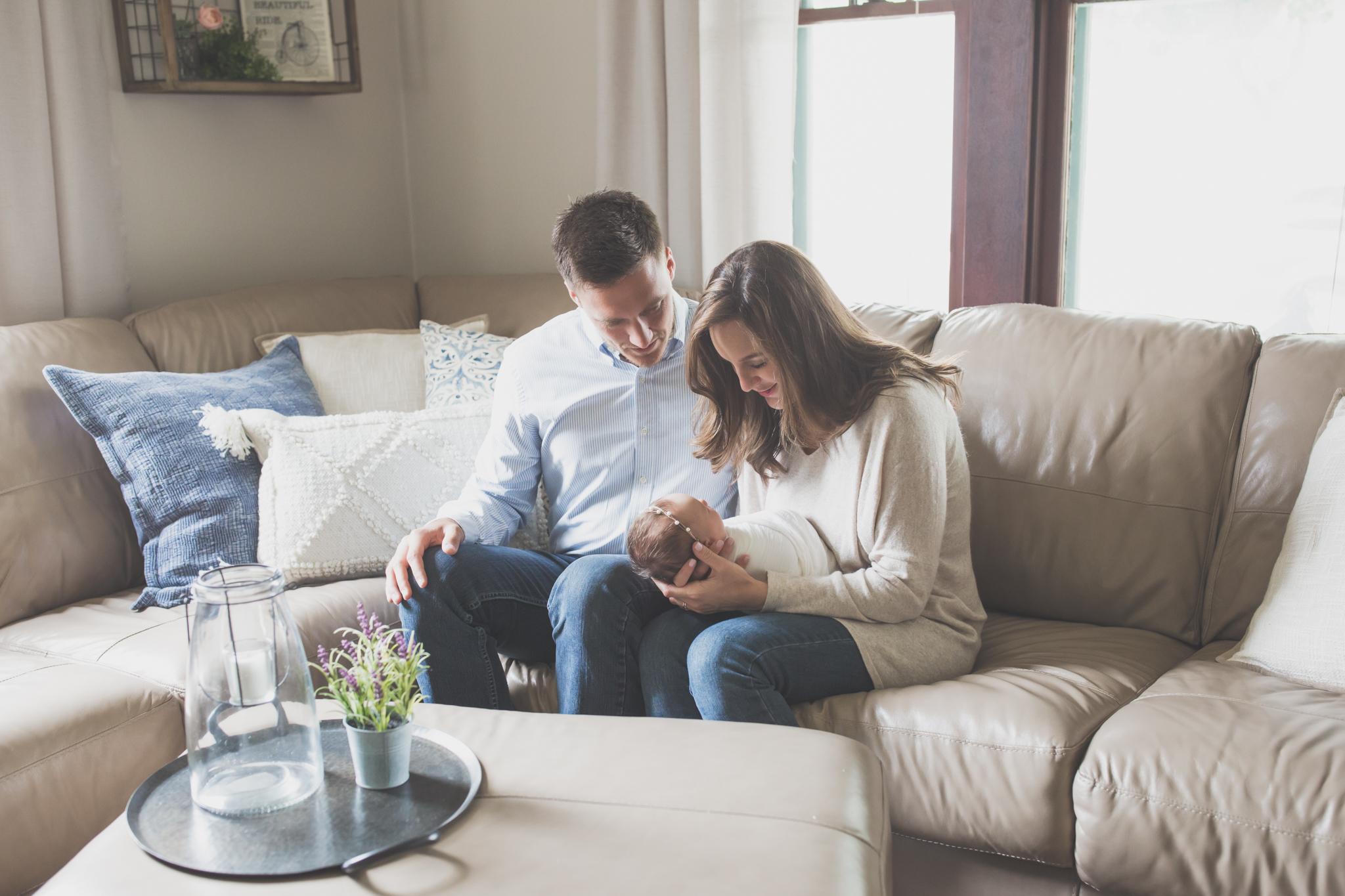 Newborn lifestyle studio 48 Session Cara Peterson Photography Rockford IL-10.jpg