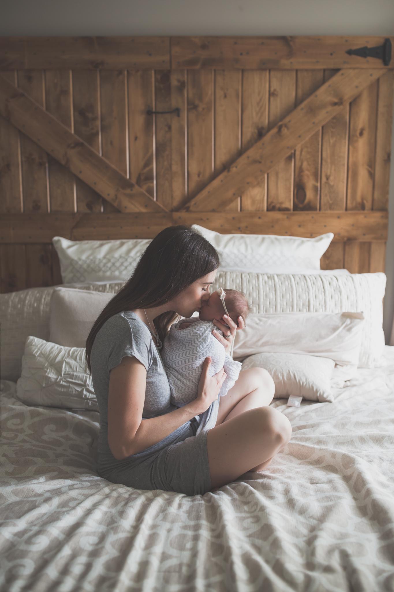 Newborn lifestyle maternity studio Session Cara Peterson Photography Rockford IL-15.jpg