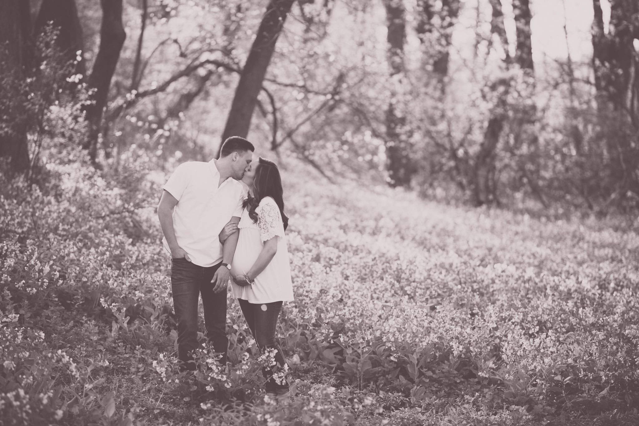 ourdoors maternity byron forest preserve lifestyle studio Session Cara Peterson Photography Rockford IL-3.jpg