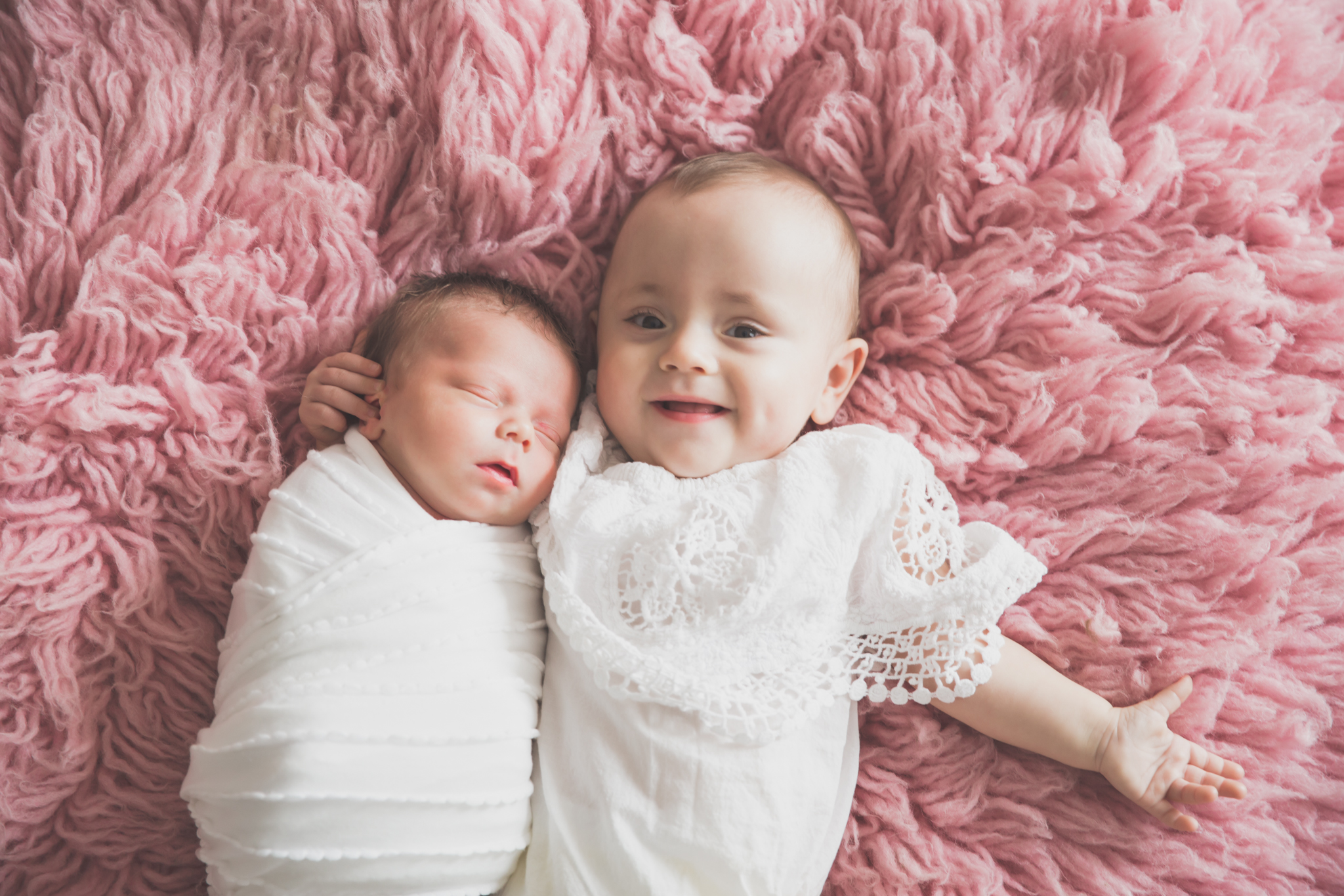 Sibling photos Newborn session photographer lifestyle studio - Cara Peterson Photography Rockford IL-1-5.jpg