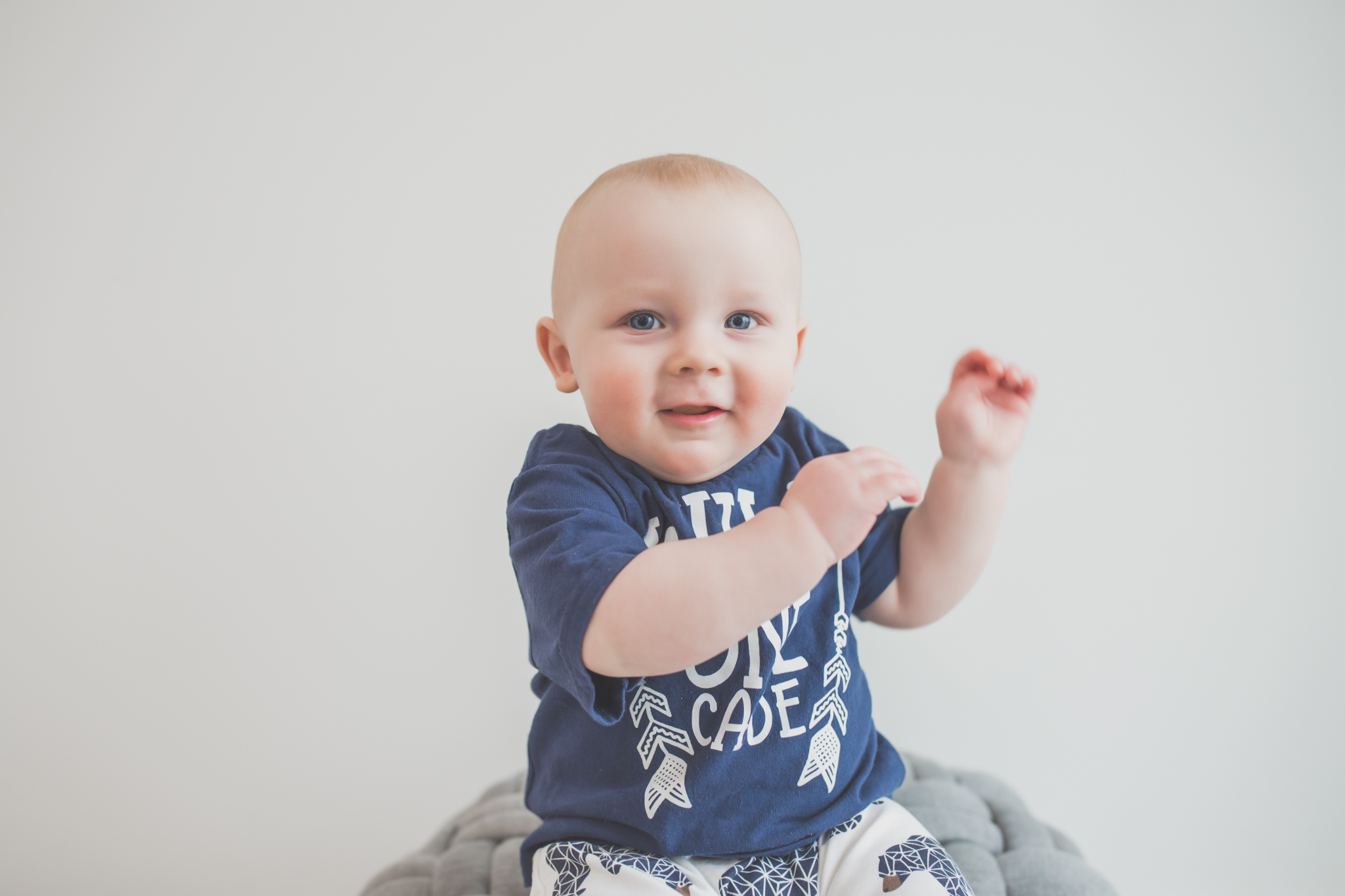 Cade 1 Year Old Cake Smash Milestone Session Cara Peterson Photography Rockford IL -17.jpg