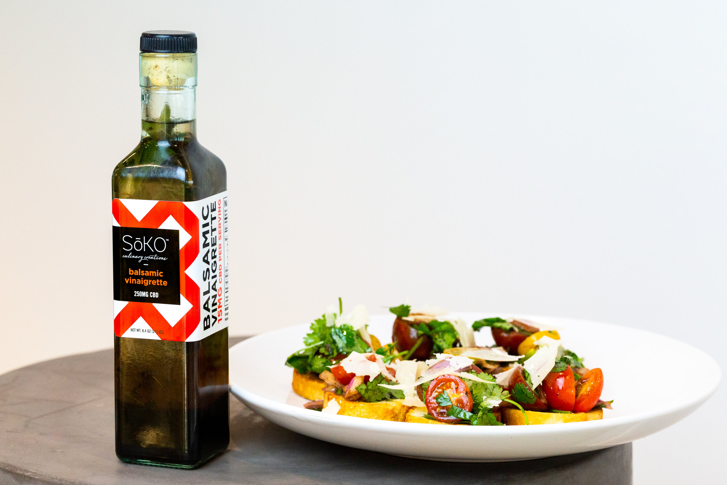 Soko CBD Infused Balsamic Salad Recipe — CBD Oil That Works