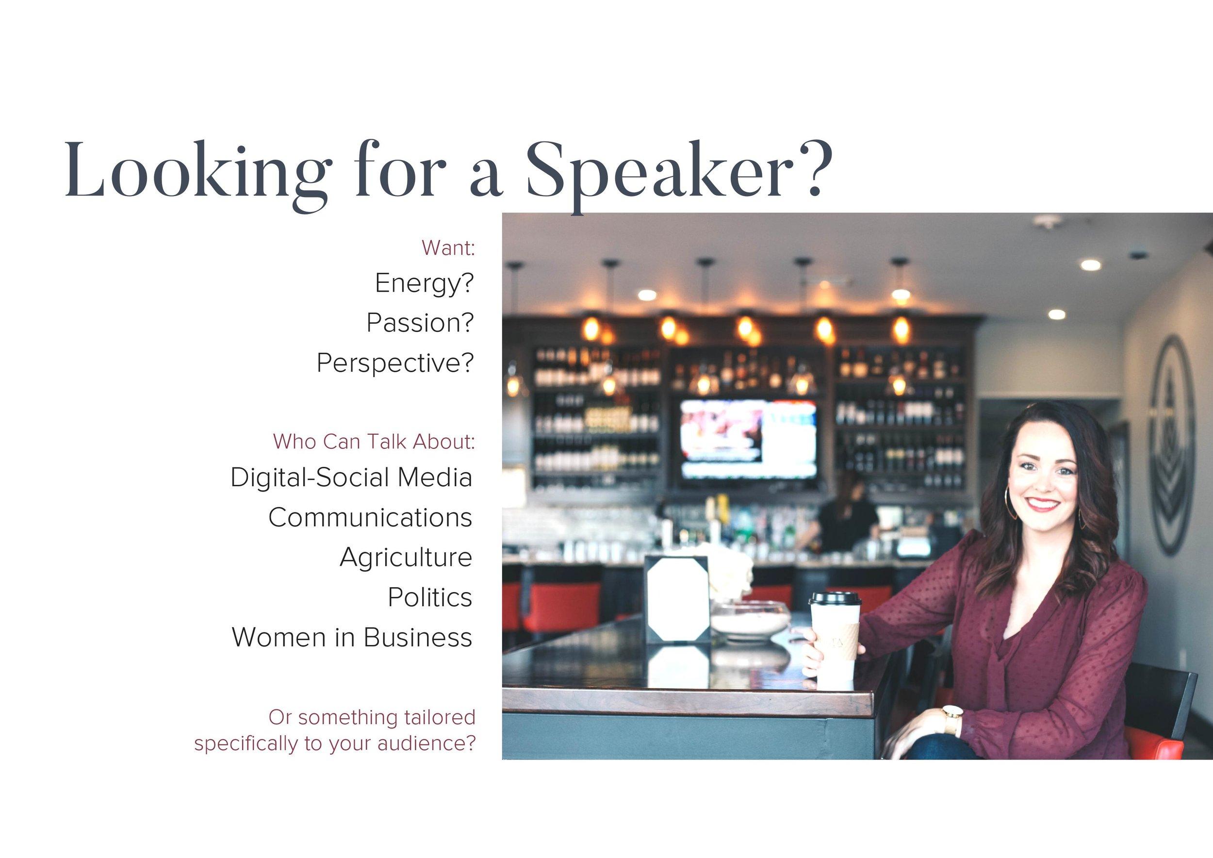 Looking for a Speaker.jpg