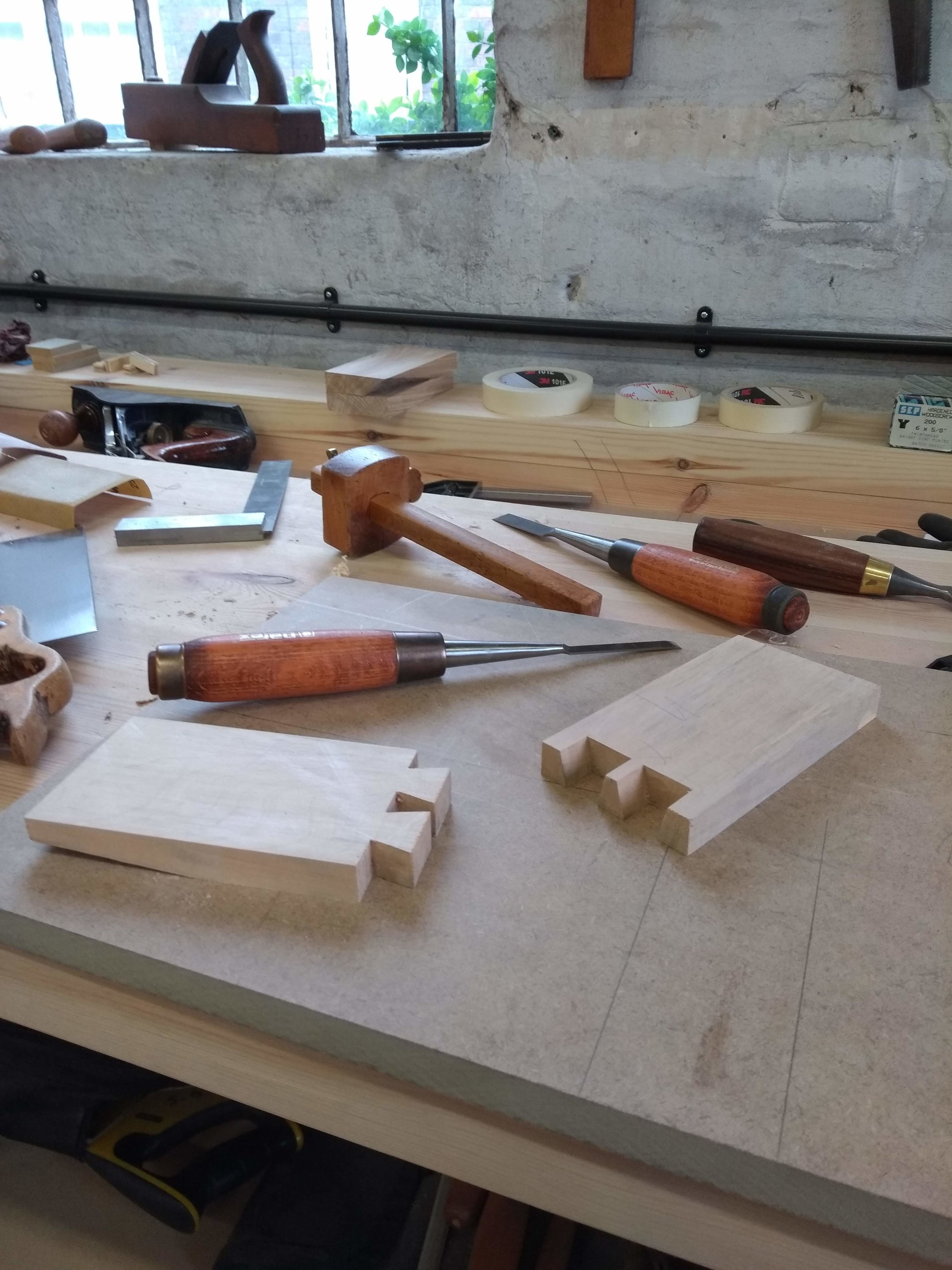 improver-advanced 2 day course — dovetail woodworking