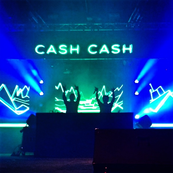 Lighting / Production / Concerts - Dazzle your guests with brilliant lighting, custom cut gobos, and first class production for our headlining concert acts.