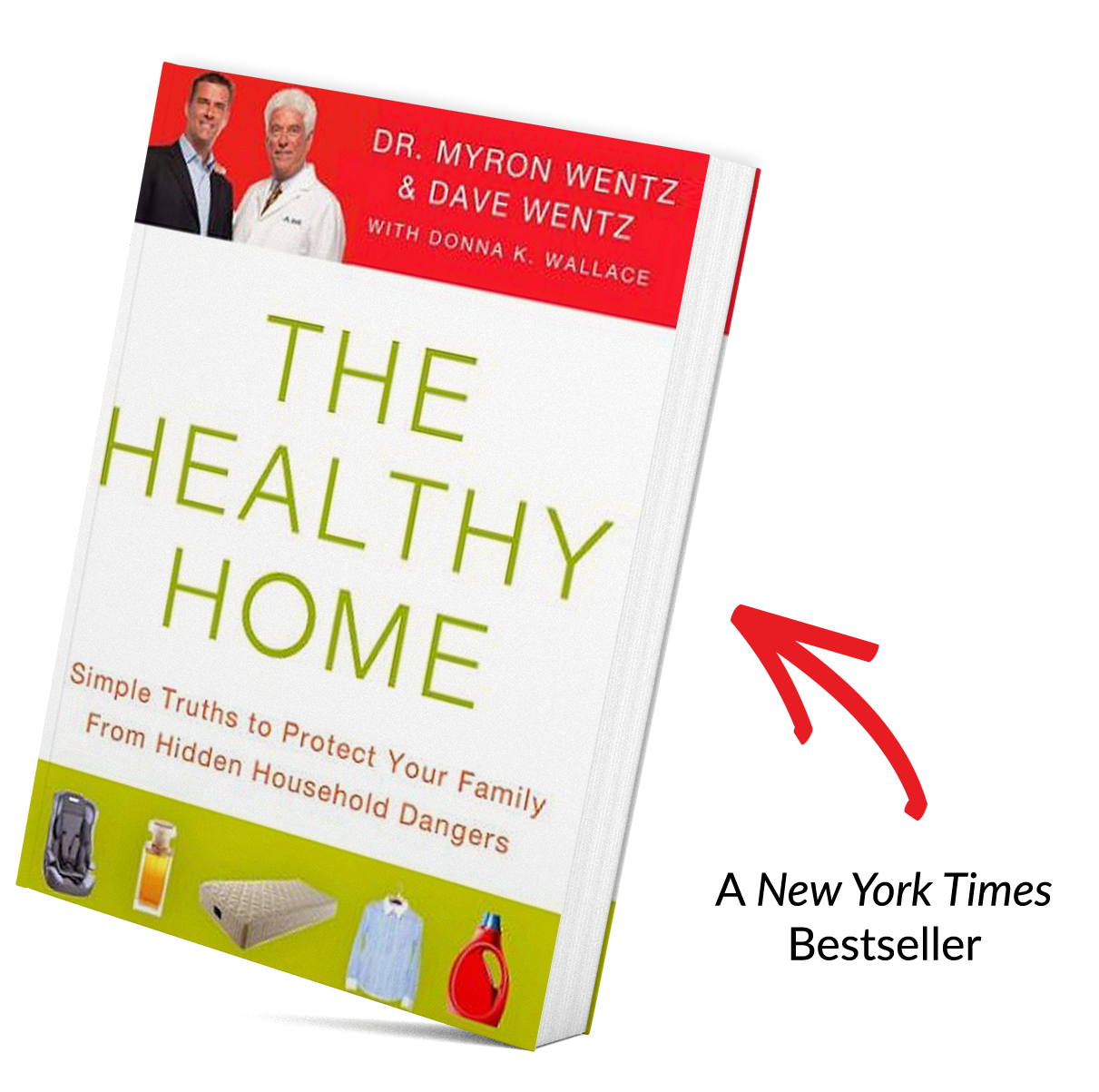 The Healthy Home Book Mock Up
