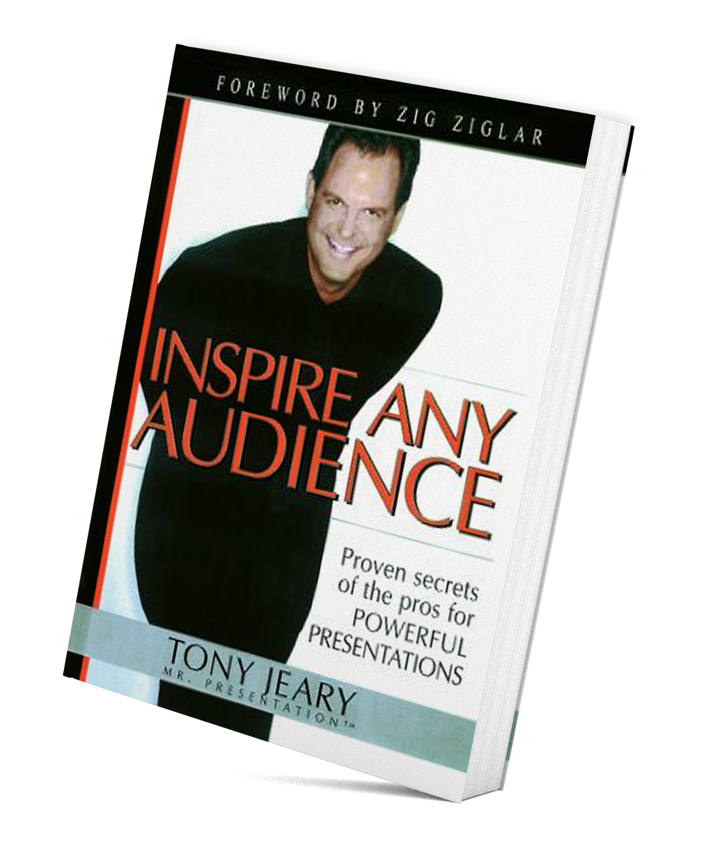 Inspire Any Audience Book Cover