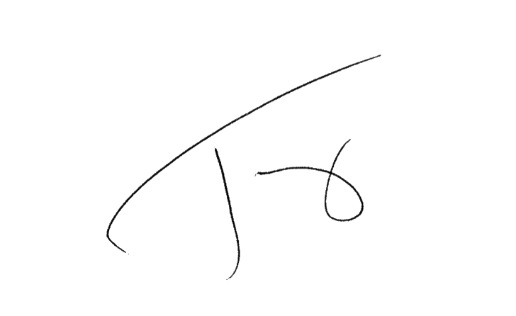 Tony Signature