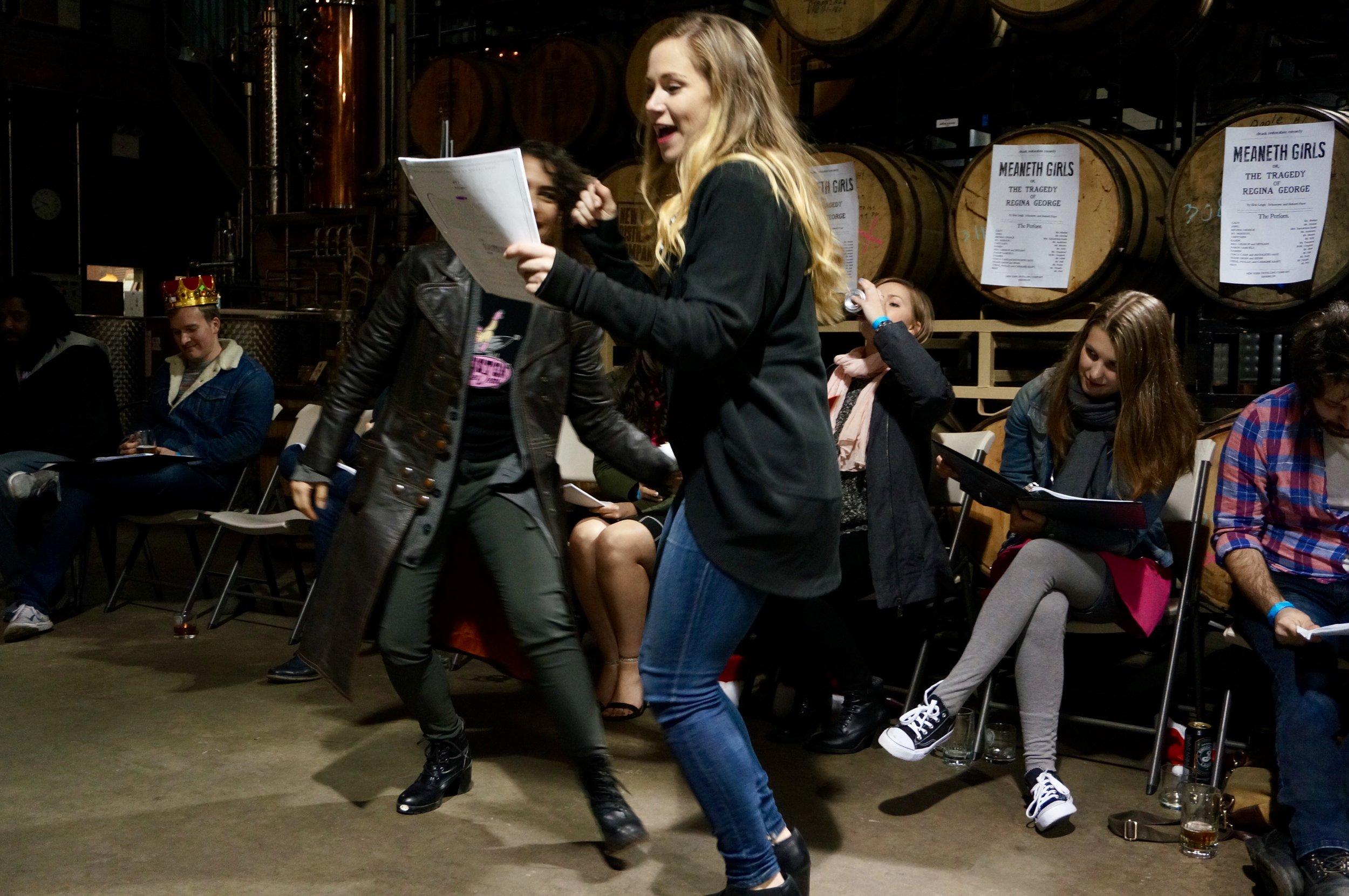 Drunk Restoration Comedy presents  Meaneth Girls: The Tragedy of Regina George. 2017.