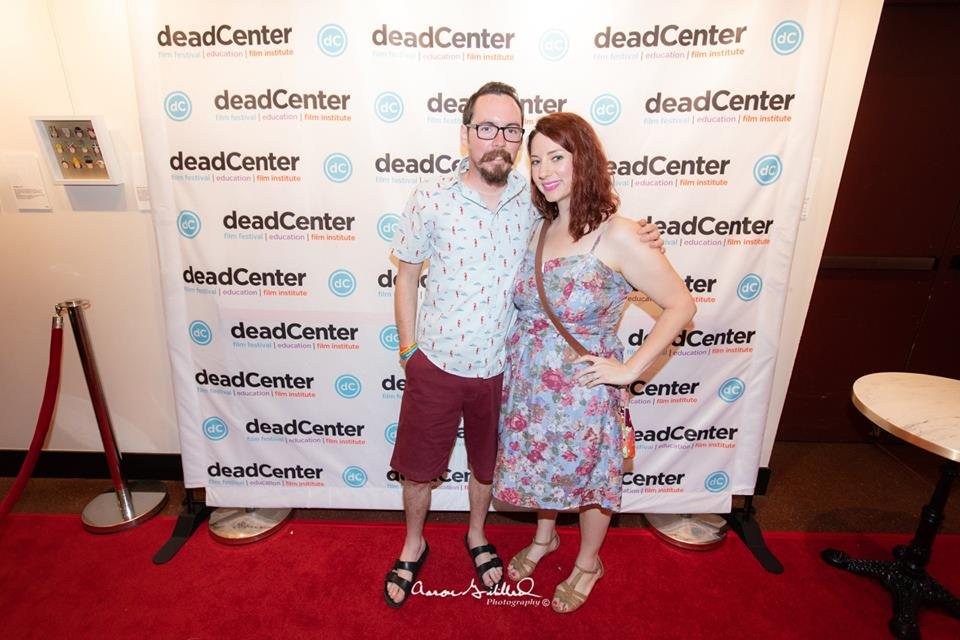 Anna and Patrick at deadCenter Film's Studio 54 kick off party!