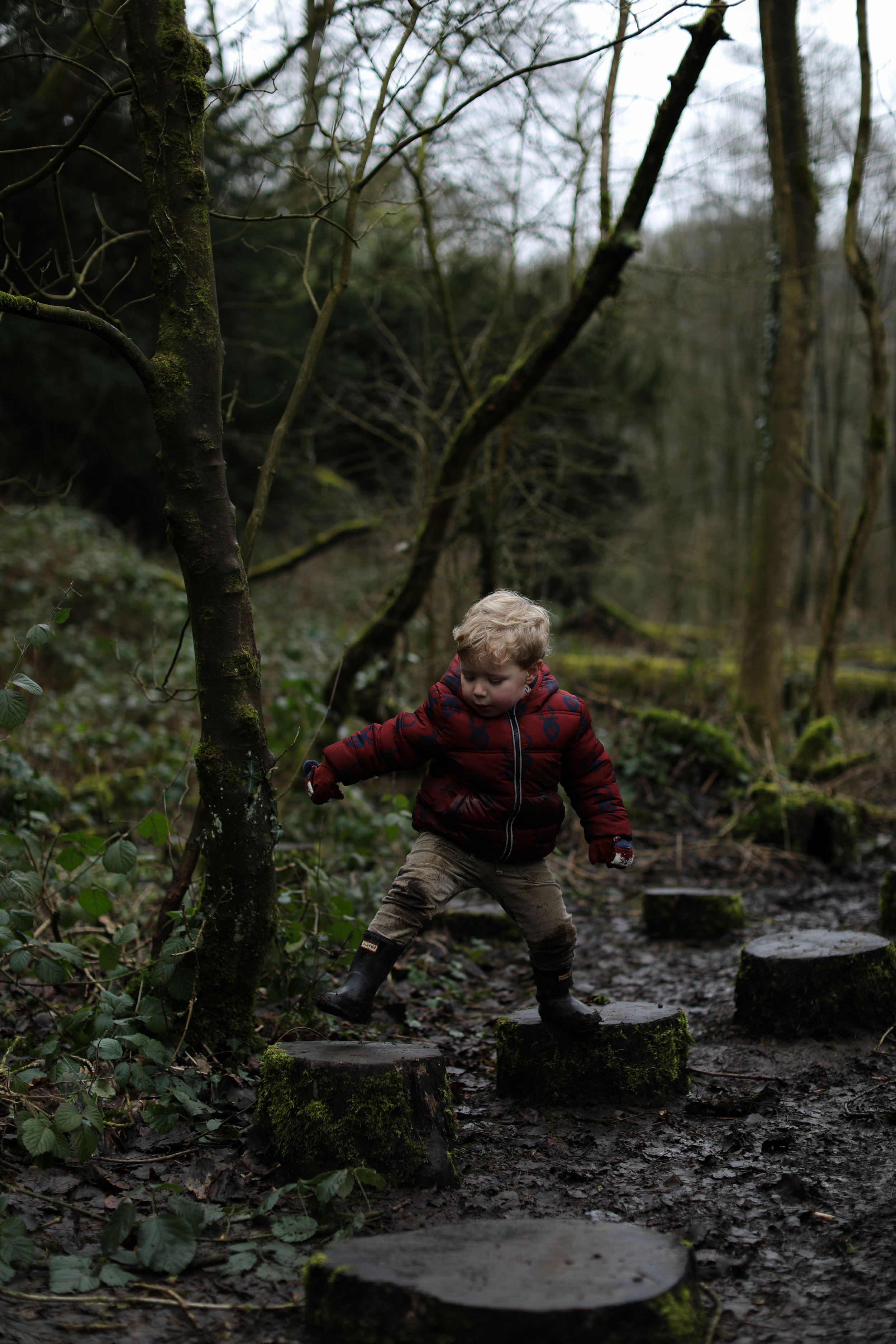 It might be muddy, but how much more exciting and fun is this than playing on a traditional park?