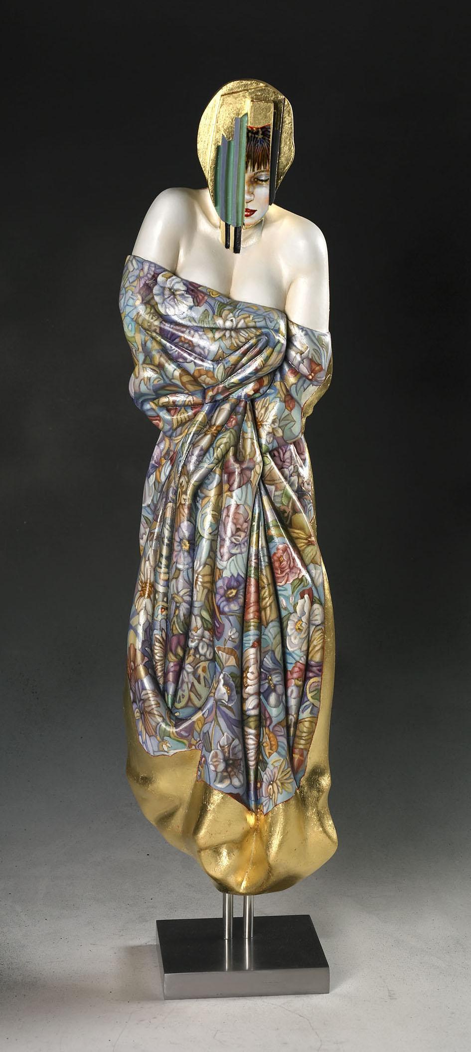 Vénus au drapé bleu (65 cm)