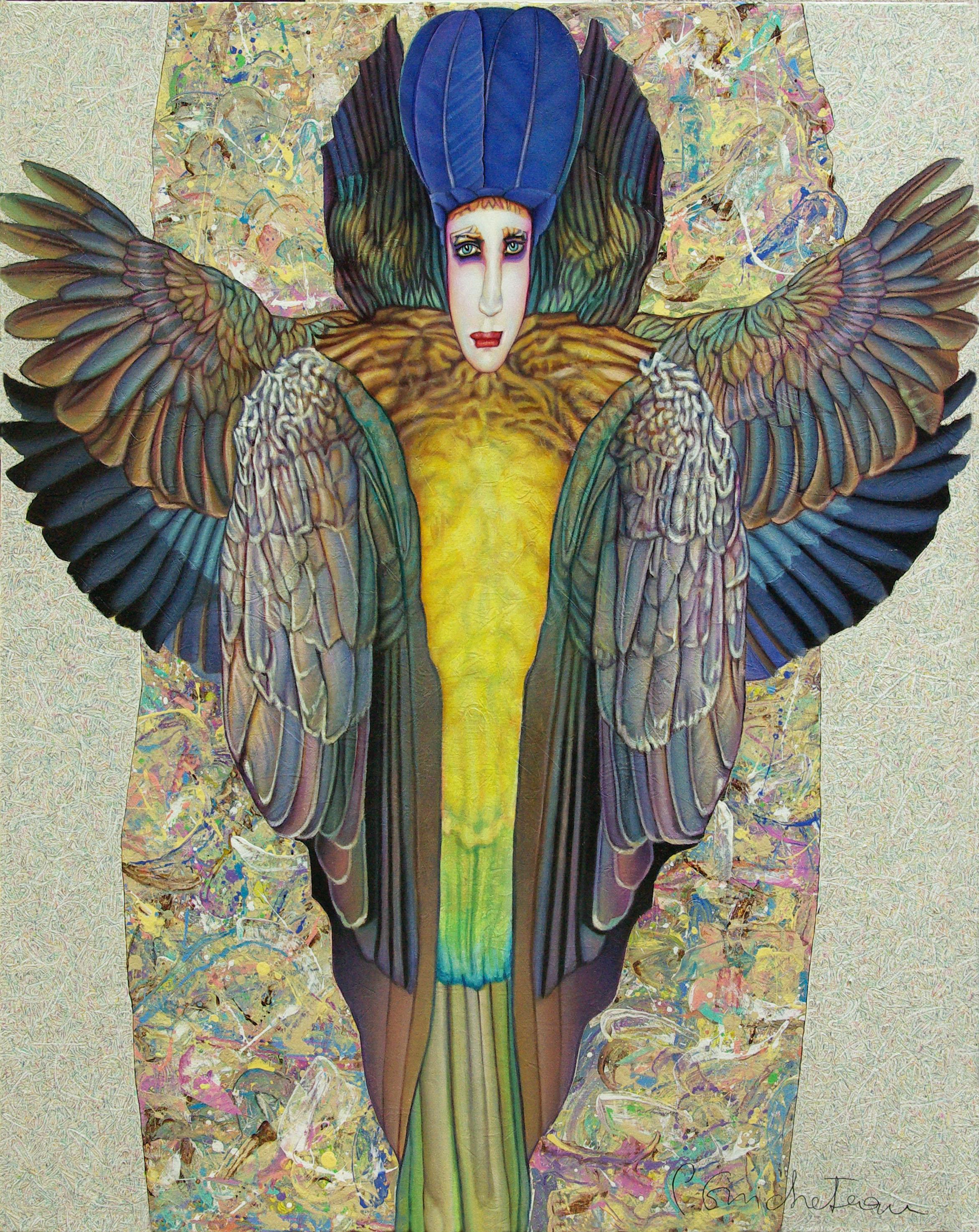 Bird Lady (116x92)