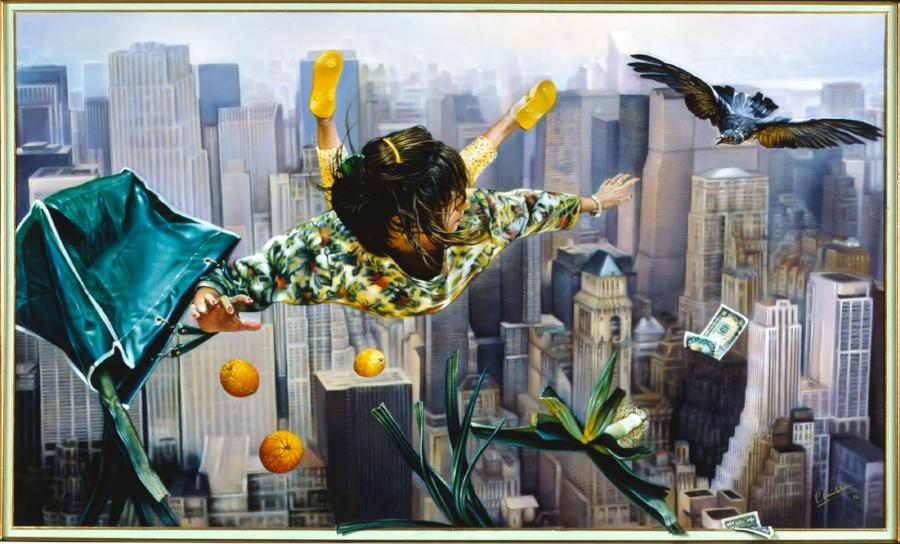 En revenant de New-York (162x97 1985)