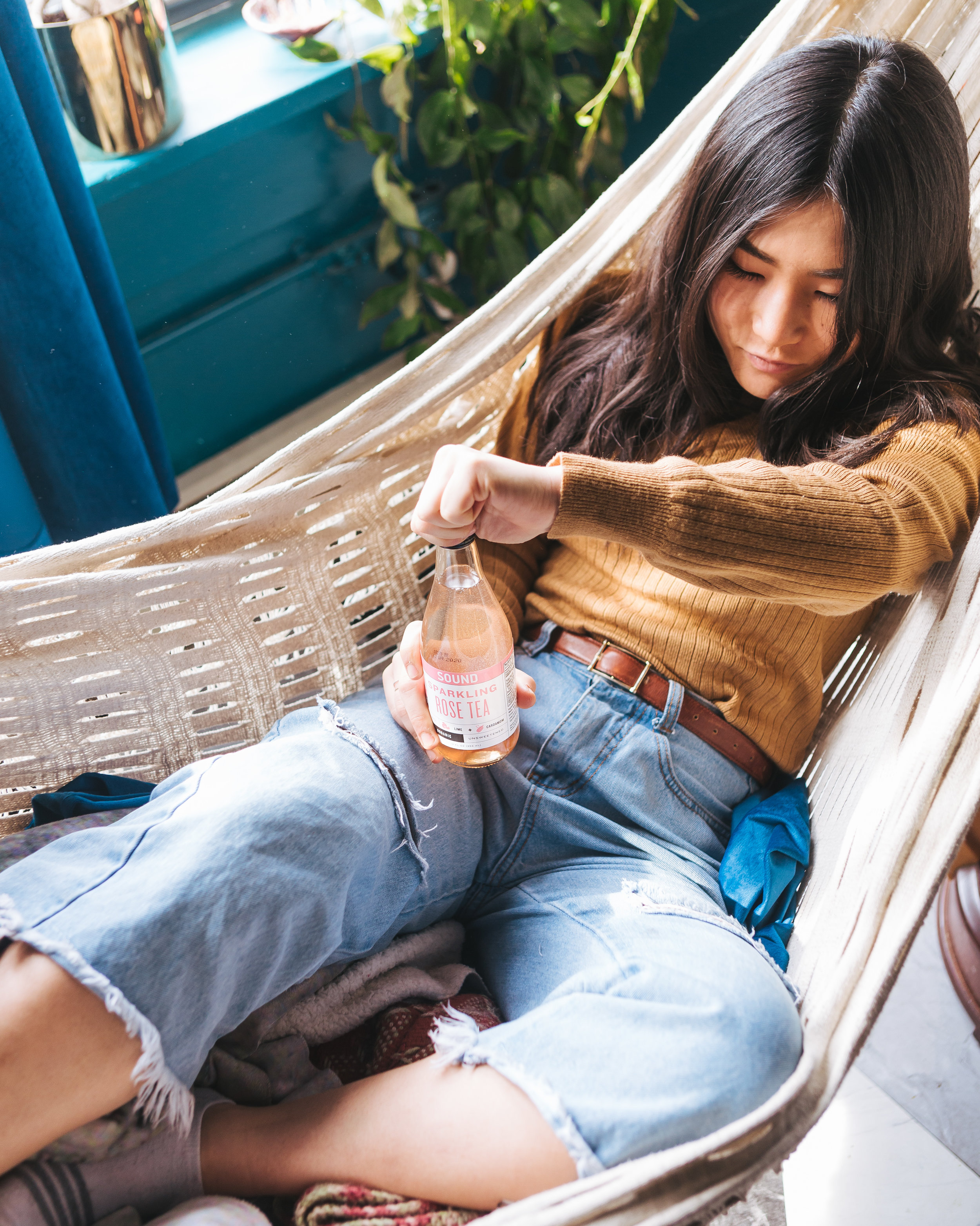 Hammock… chilling… how most of us felt today, I am sure!
