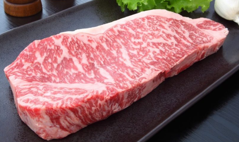 Raw Kobe… look at that perfect marbling!