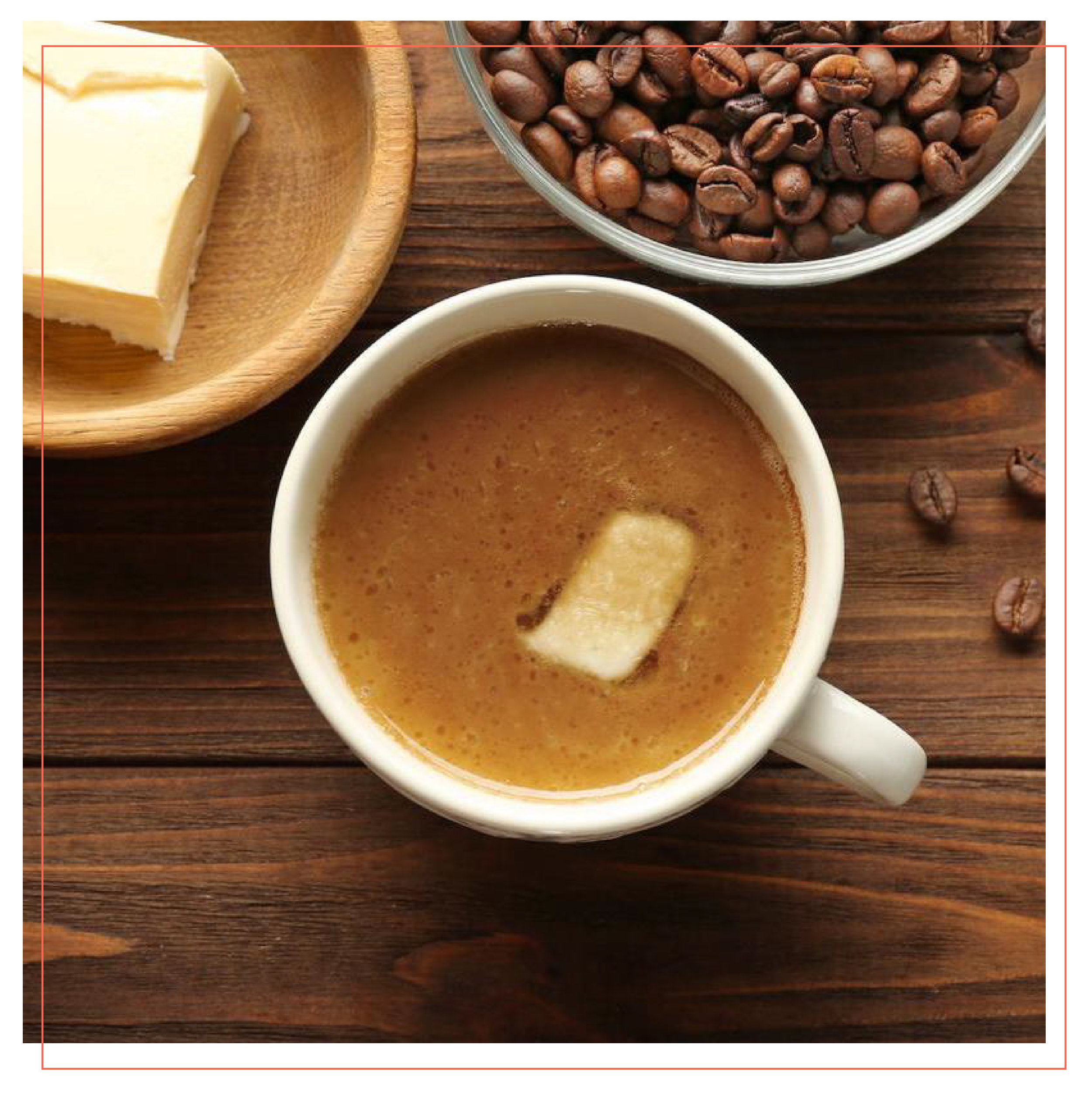 BUTTER COFFEE   ...and other oily substances that promise peak performance.