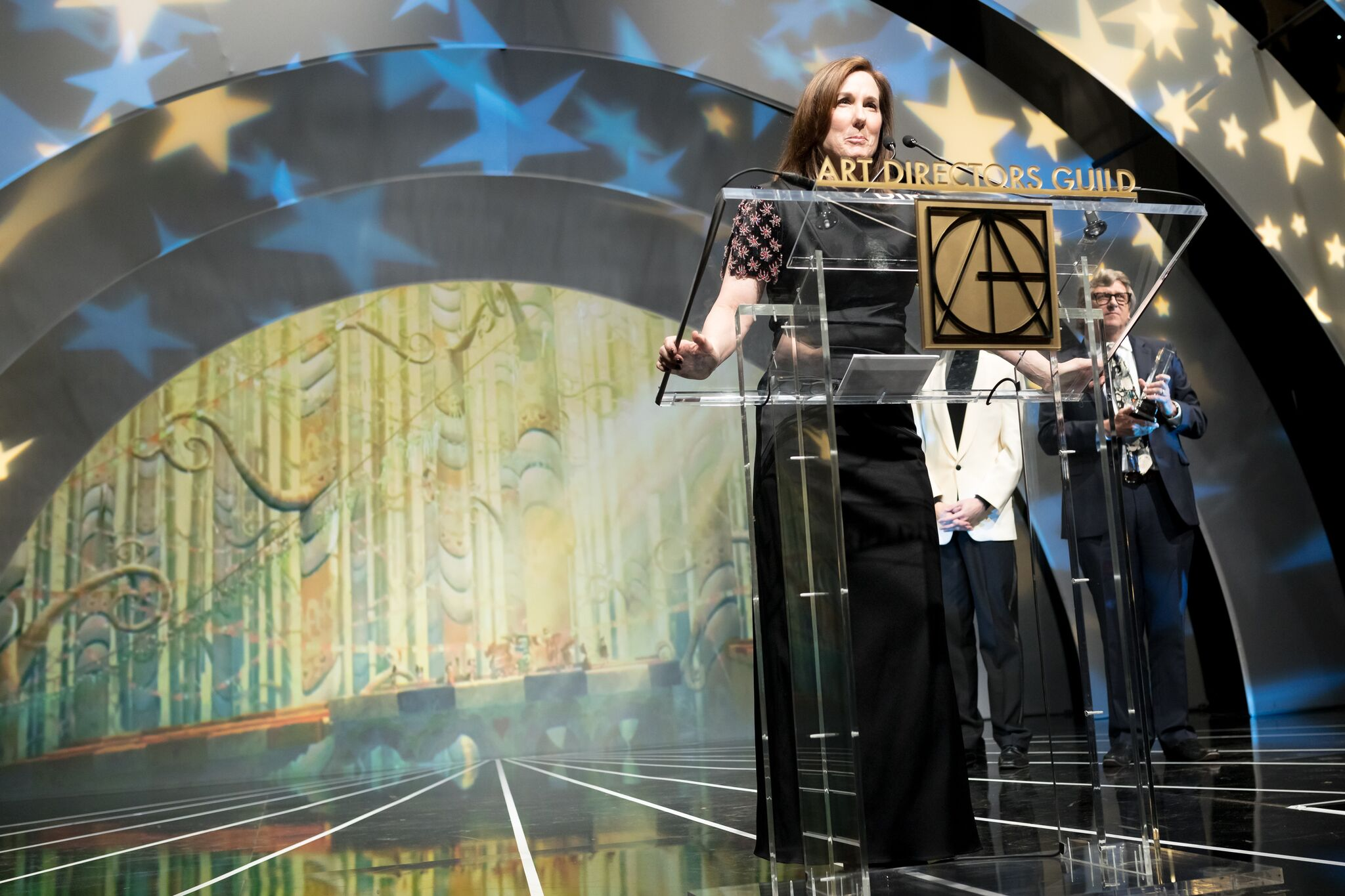 Presenter Kathleen Kennedy attends the 22nd Annual Art Directors Guild Excellence In Production Design Awards at The Ray Dolby Ballroom at Hollywood & Highland Center. (Photo by Greg Doherty) (2)_preview.jpg