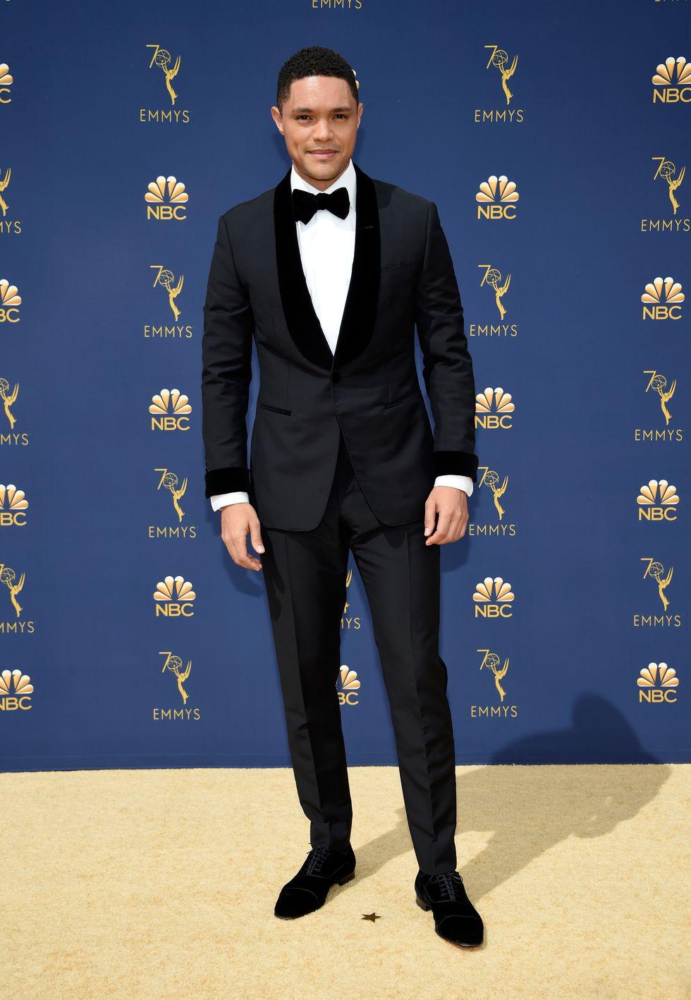 Trevor Noah in Christian Louboutin Shoes